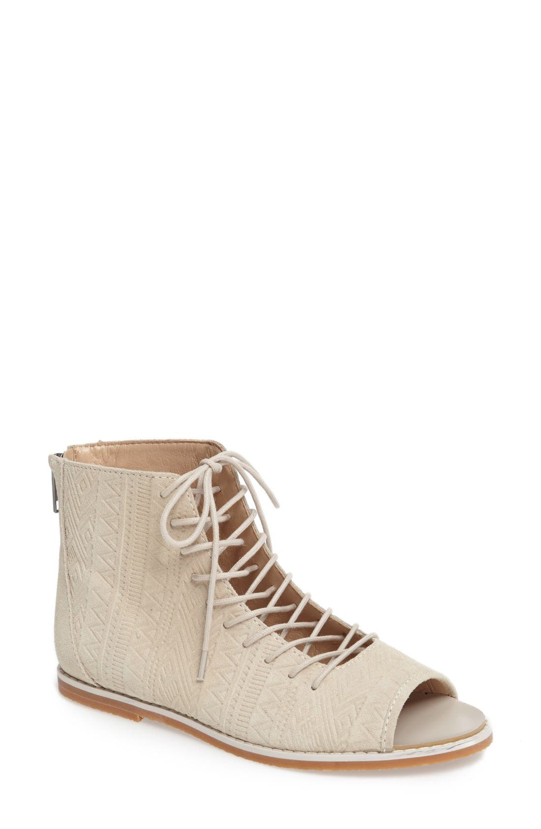 Kelsi Dagger Brooklyn Hendrix Open-Toe Bootie (Women)