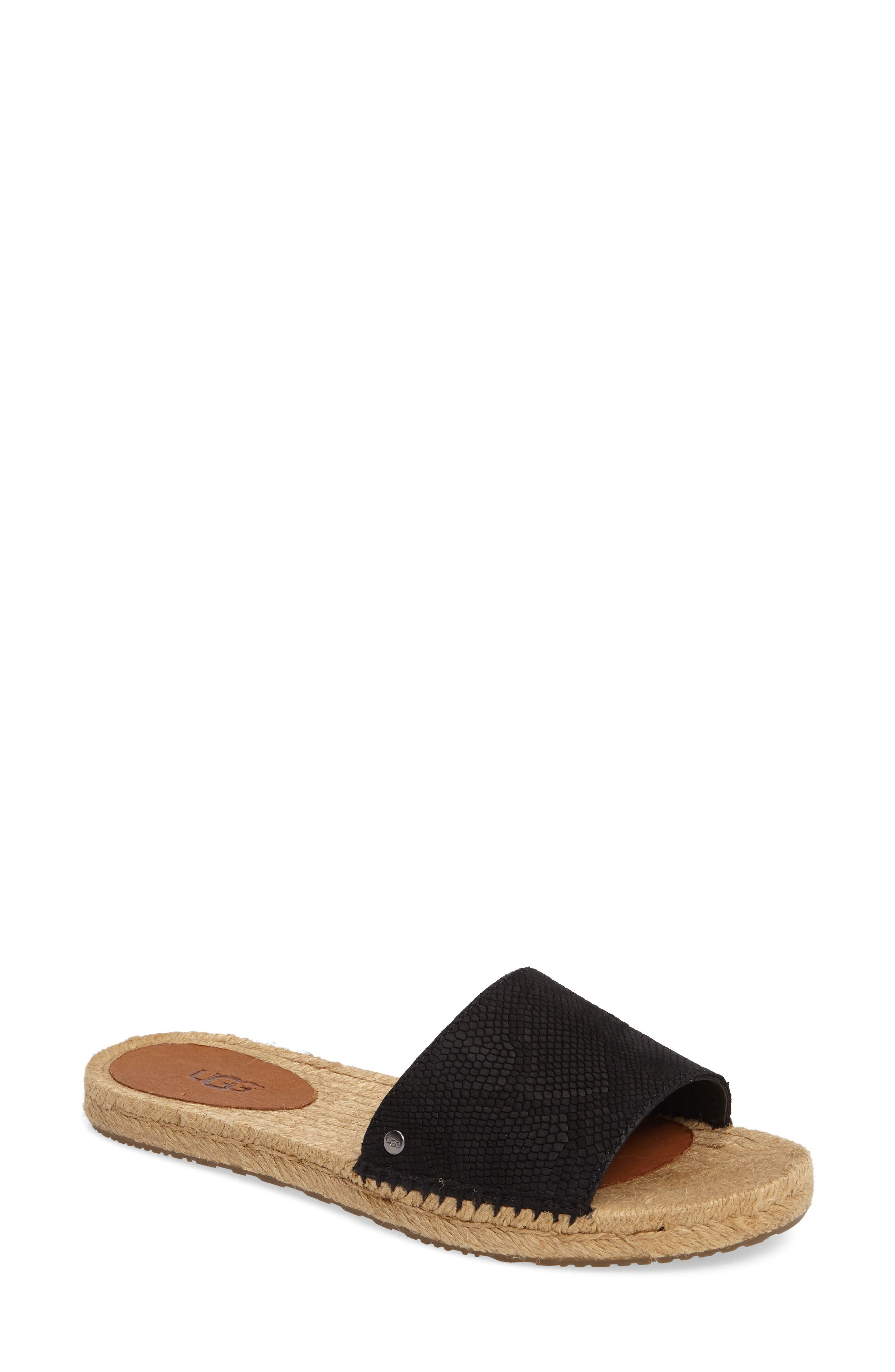 Alternate Image 1 Selected - UGG® Cherry Slide Sandal (Women)