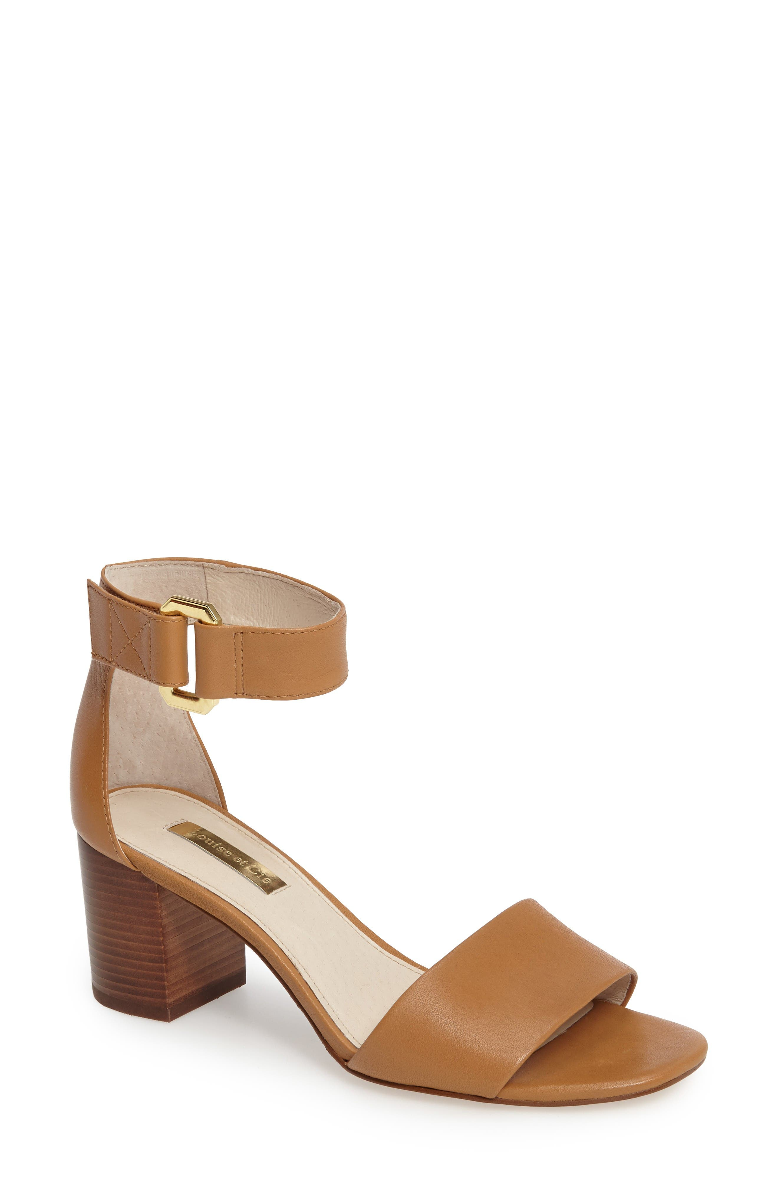 Louise et Cie Kambria Block Heel Sandal (Women)