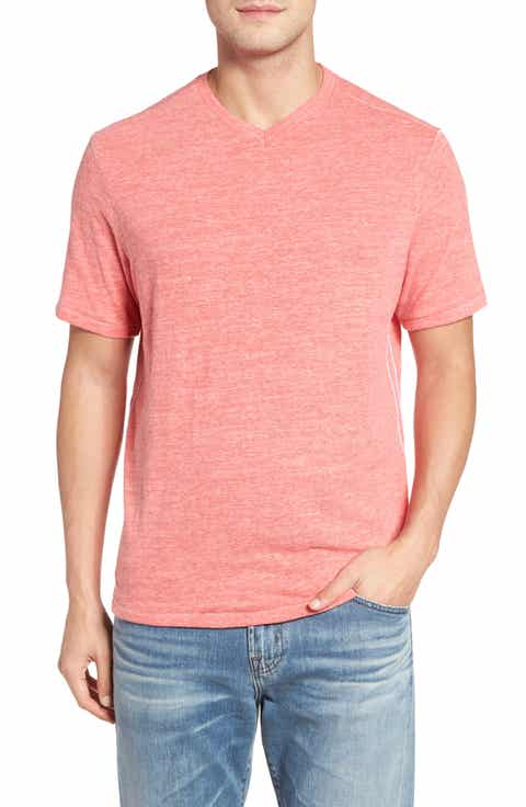 Tommy Bahama Sunday's Best V-Neck T-Shirt (Big   Tall)