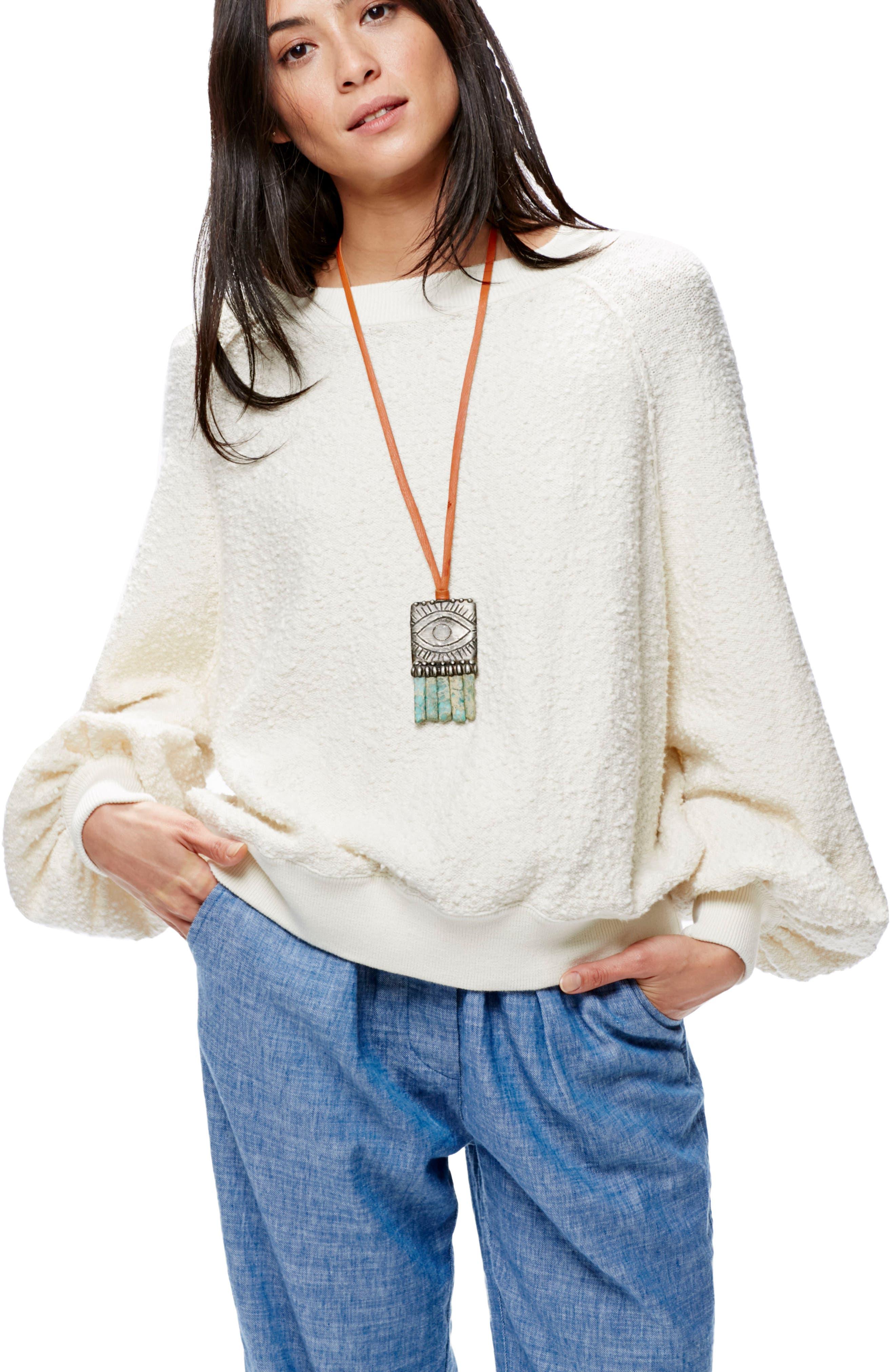 Alternate Image 2  - Free People Found My Friend Sweatshirt