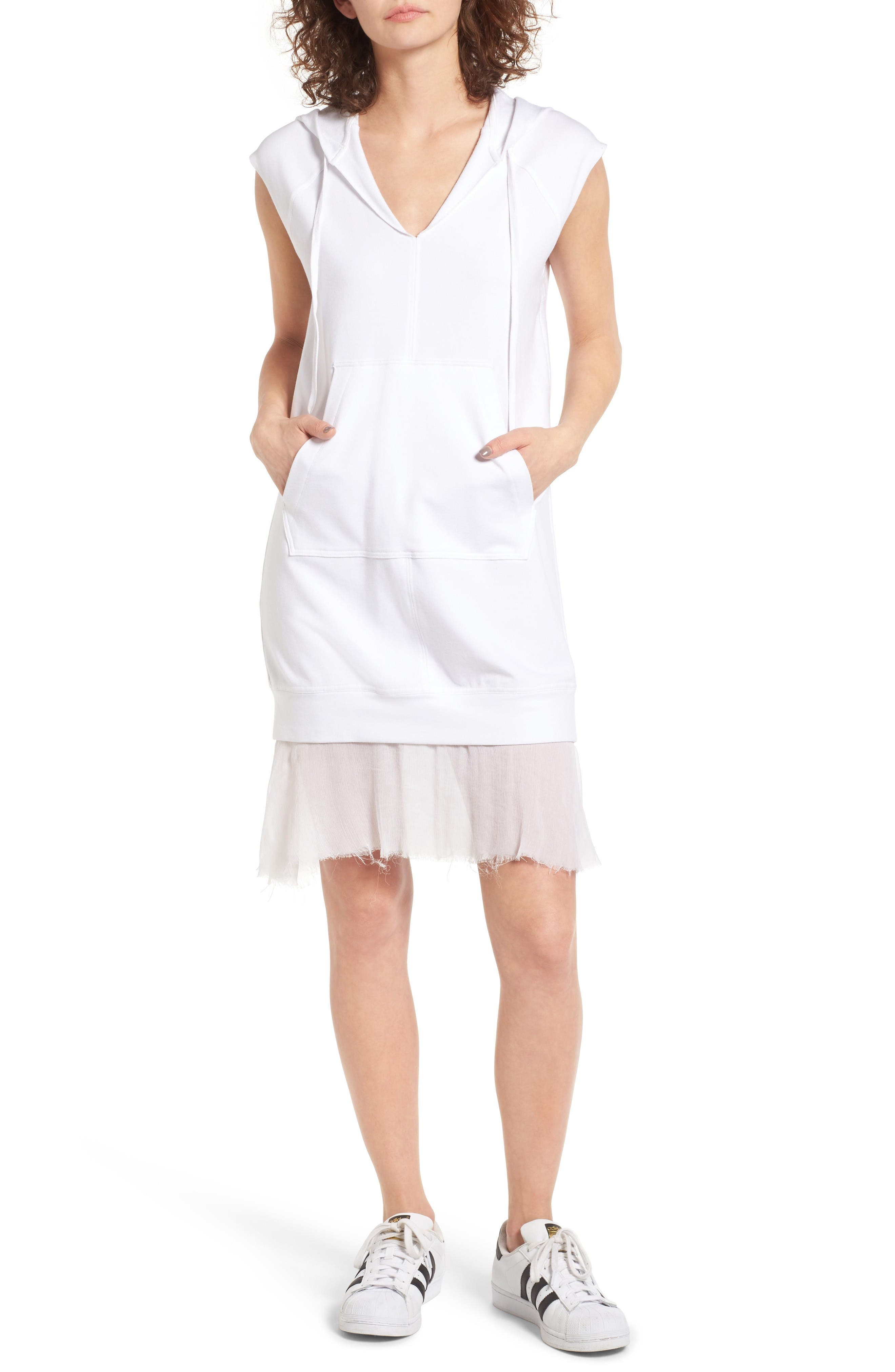 Bailey 44 Cool Down Hooded Dress