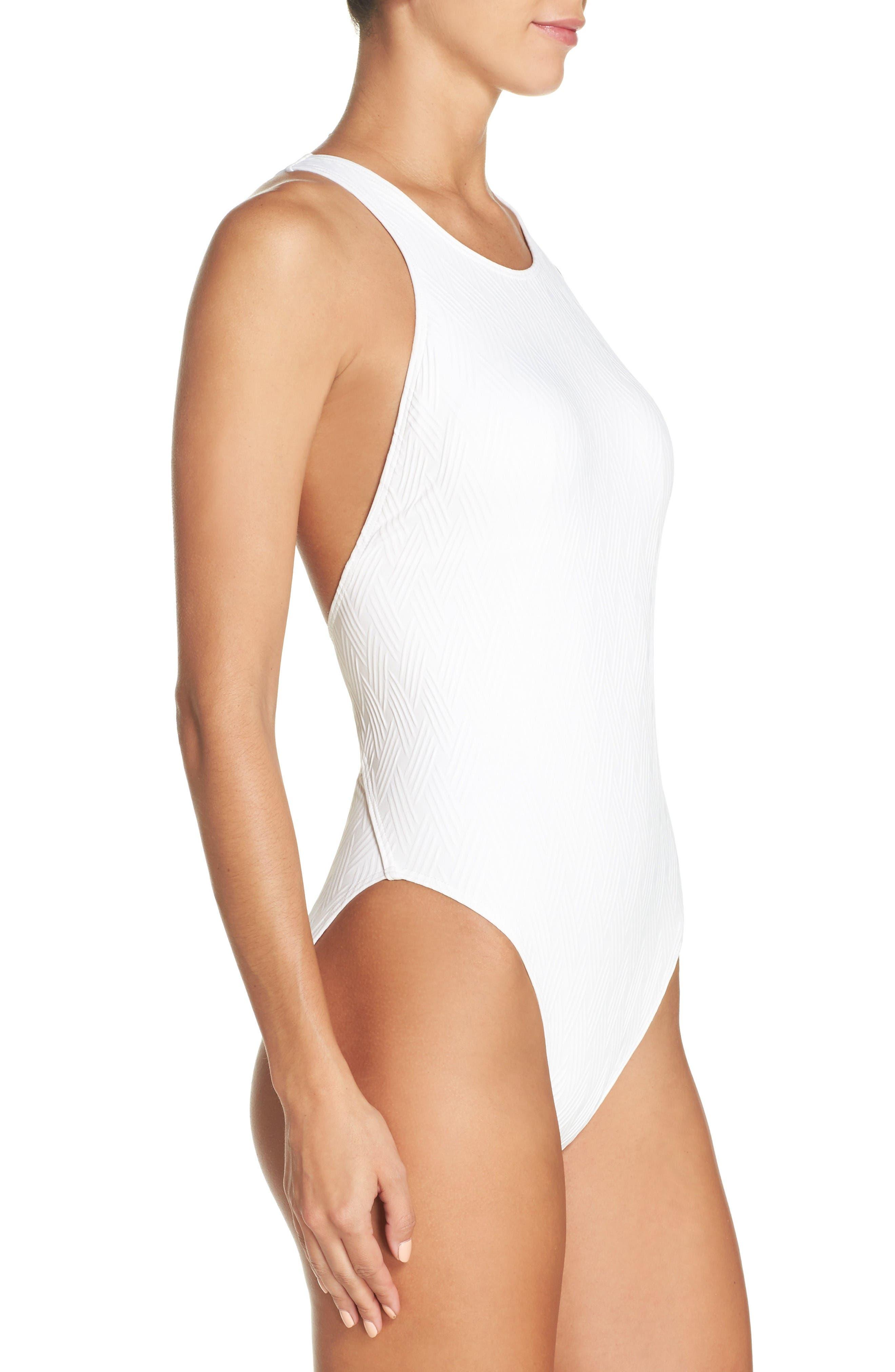Alternate Image 3  - Vince Camuto Cutout One-Piece Swimsuit