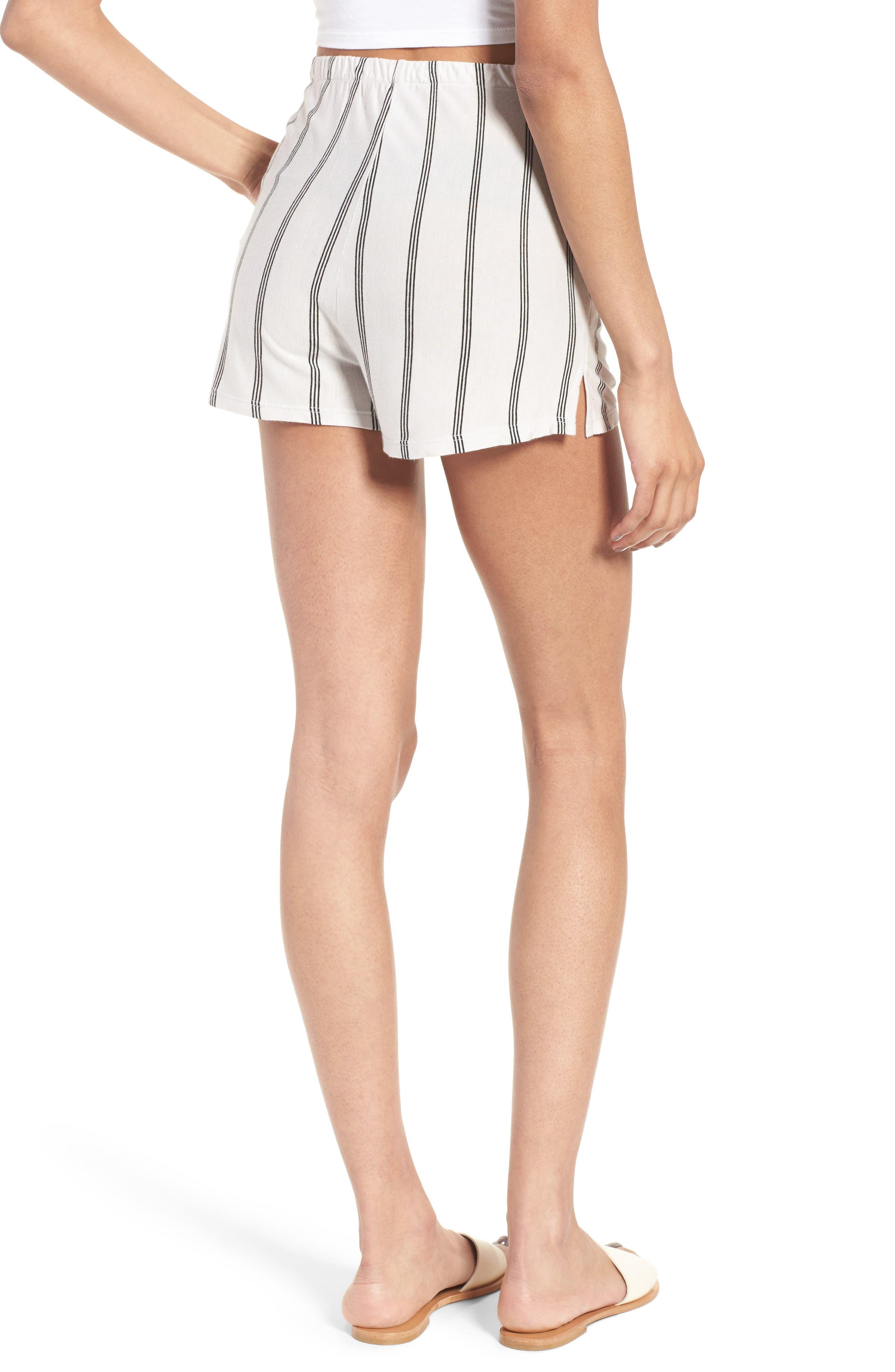 Alternate Image 2  - Michelle by Comune Reklaw Stripe Shorts