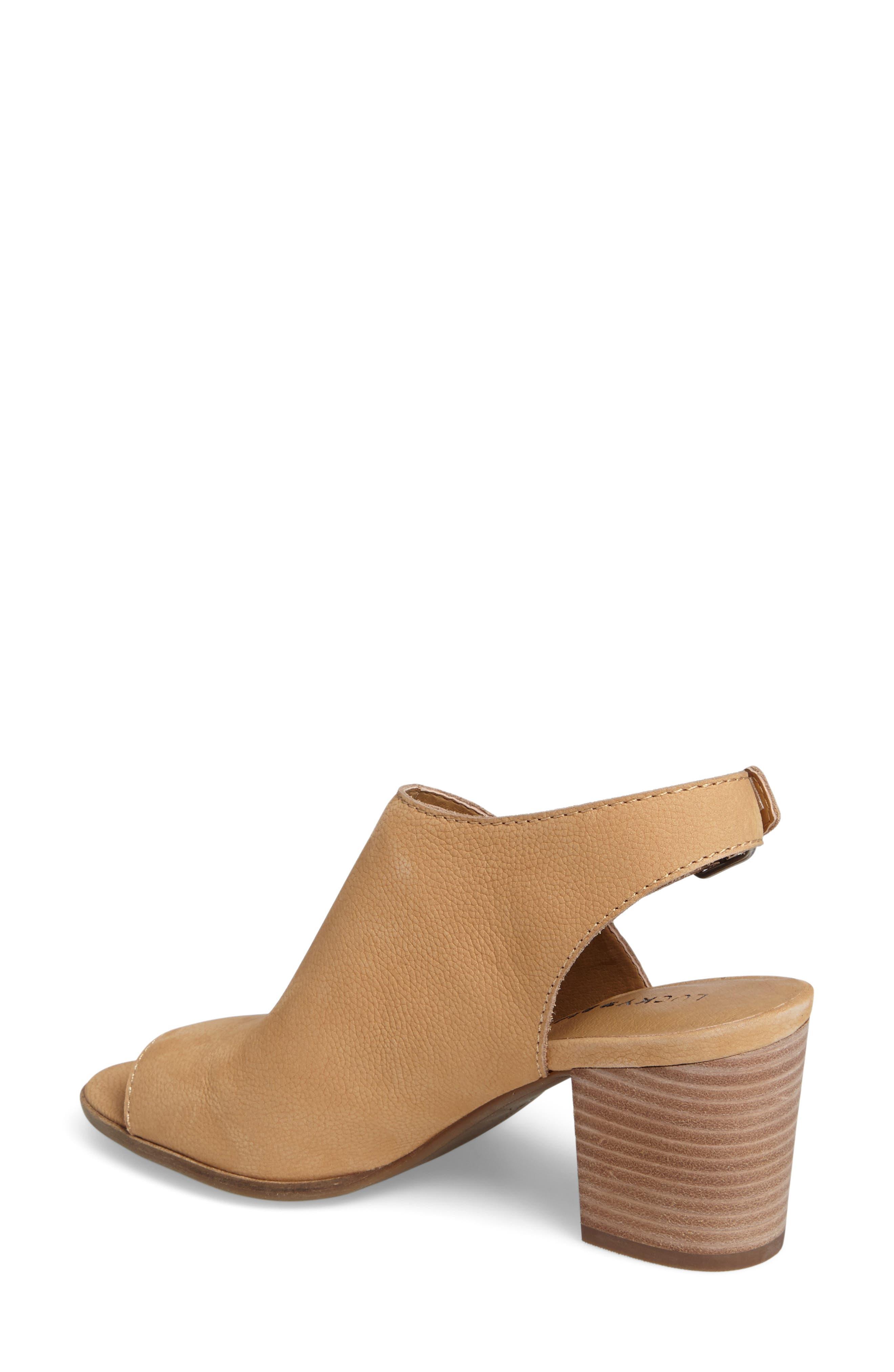 Alternate Image 2  - Lucky Brand Obelia Block Heel Sandal (Women)