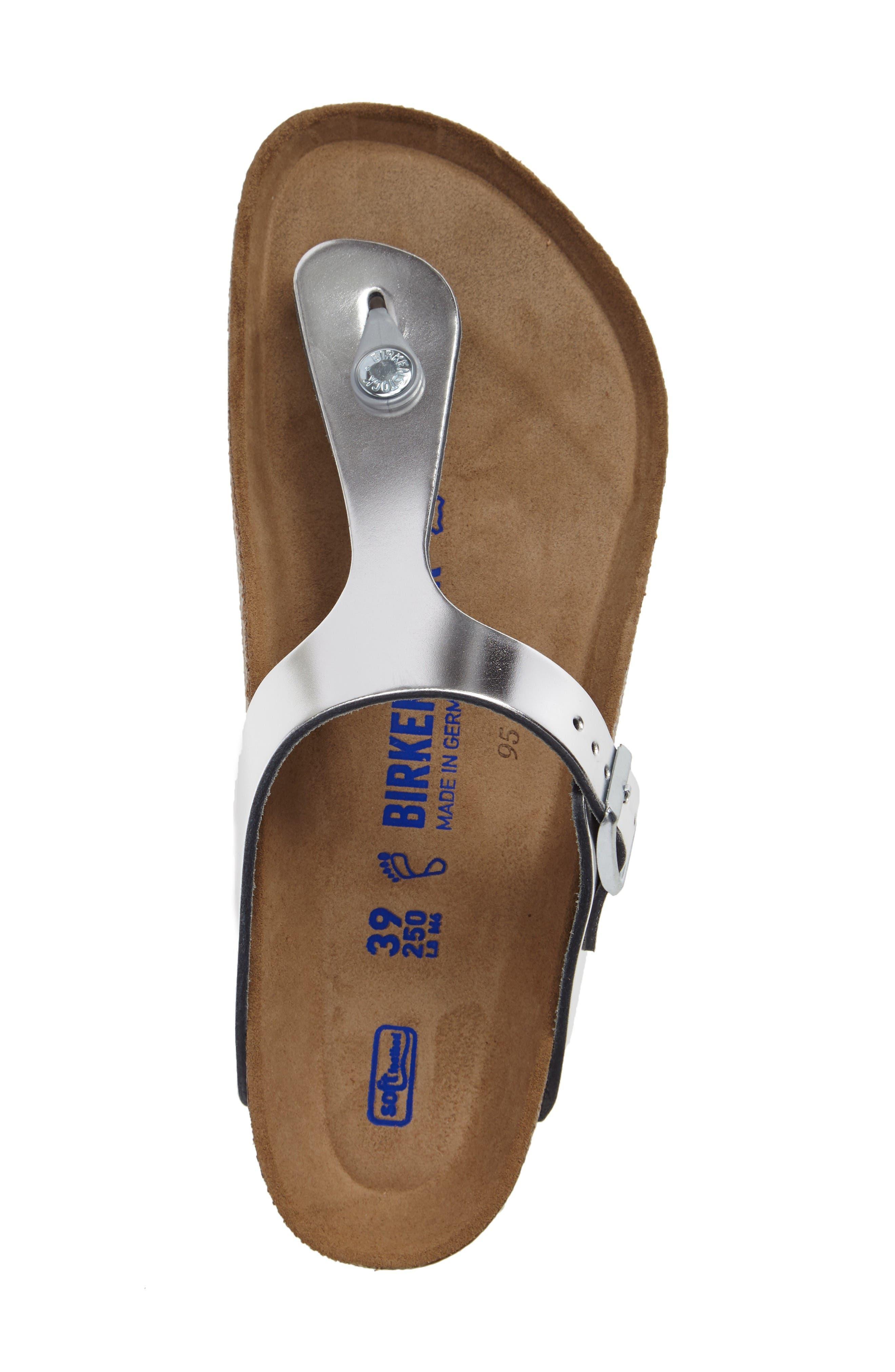 Alternate Image 3  - Birkenstock Gizeh Soft Footbed Flip Flop (Women)