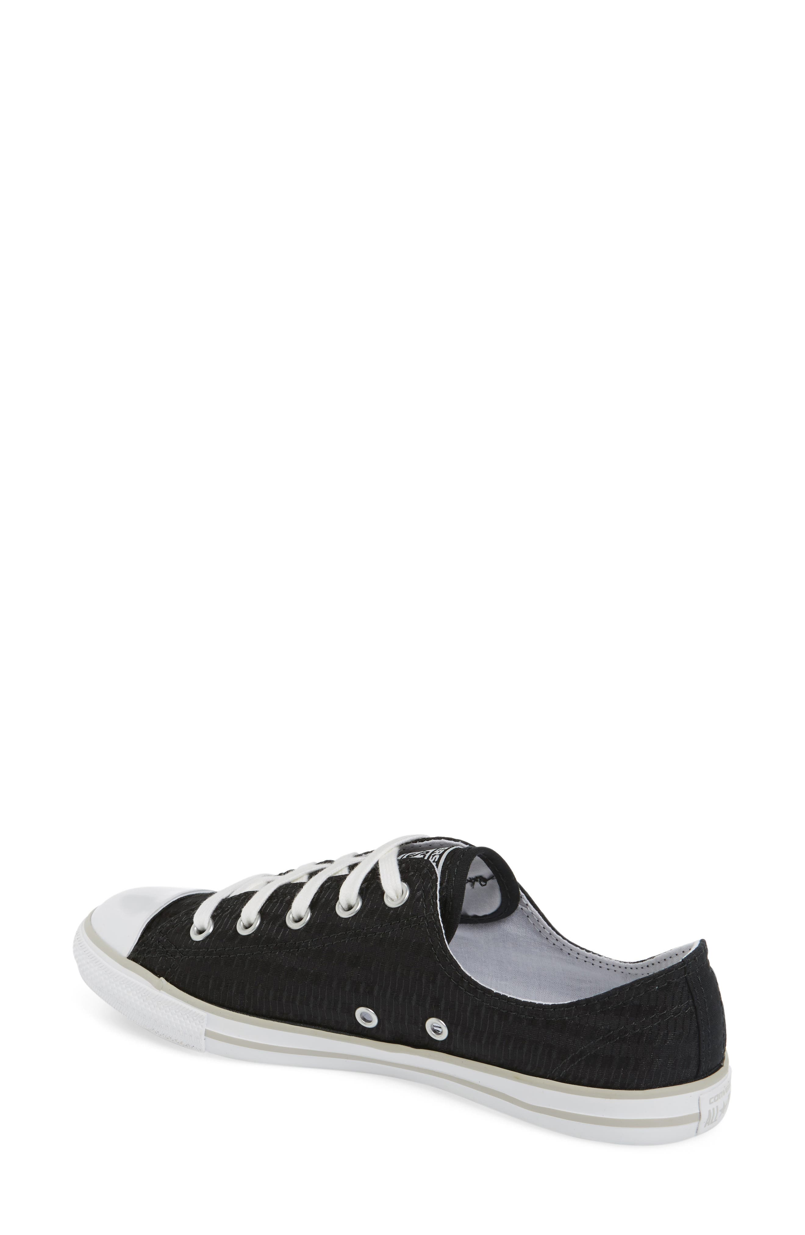 Alternate Image 2  - Chuck Taylor® All Star® Dainty Low Top Sneaker (Women)