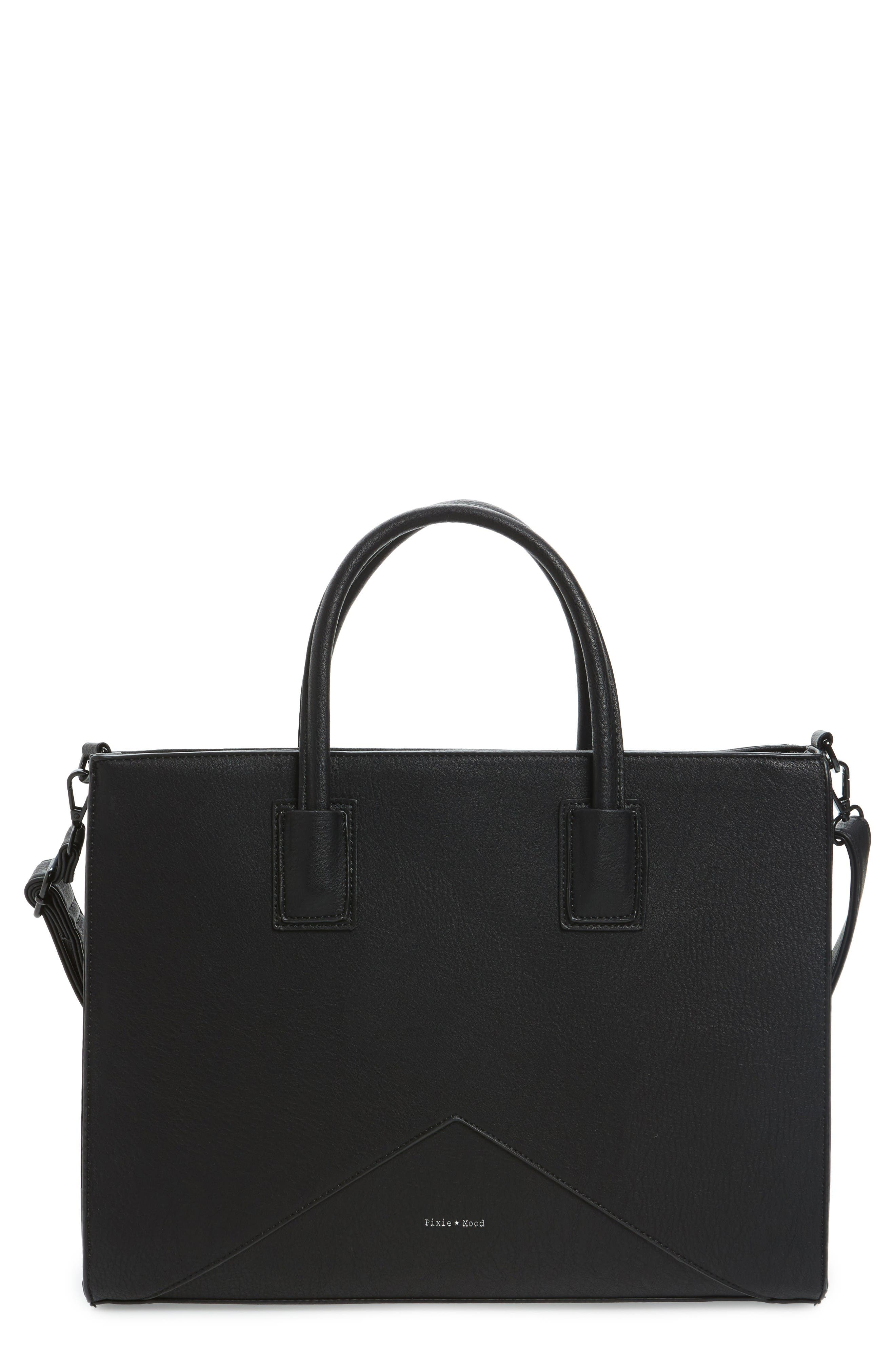 Pixie Mood Faux Leather Tote