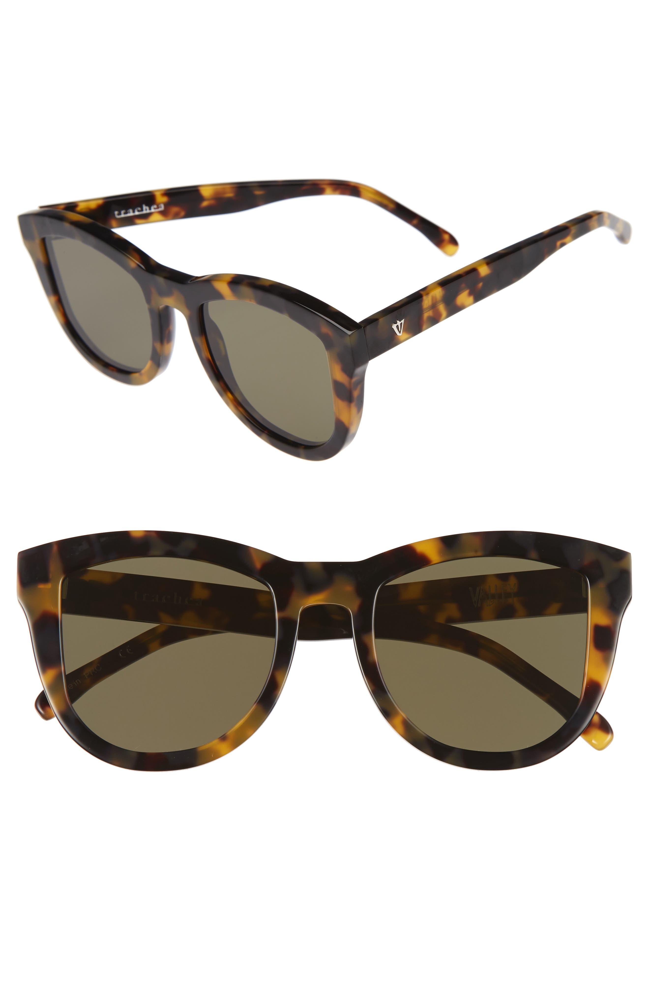 VALLEY 50mm Trachea Retro Sunglasses
