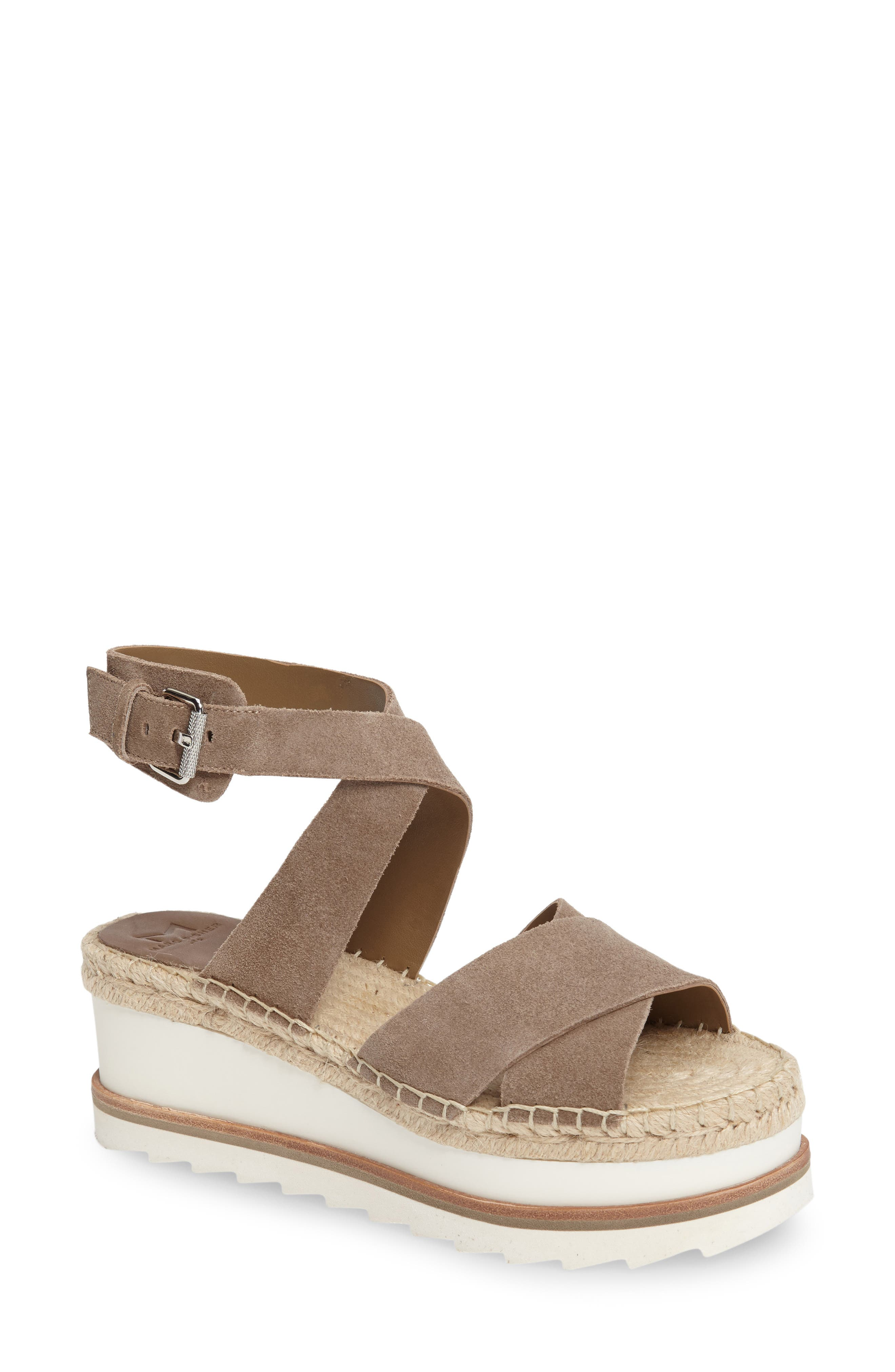 MARC FISHER LTD Greg Platform Wedge Sandal
