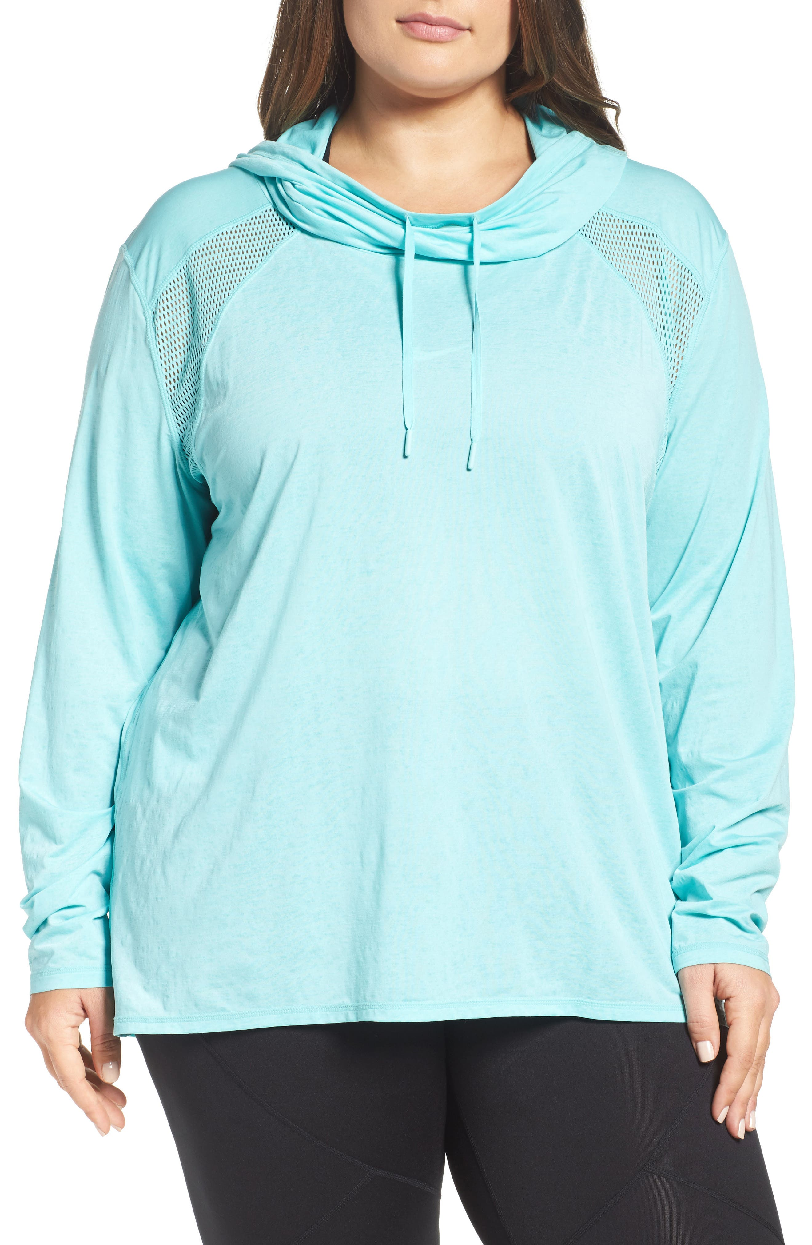 Zella Adventure Hooded Pullover (Plus Size)