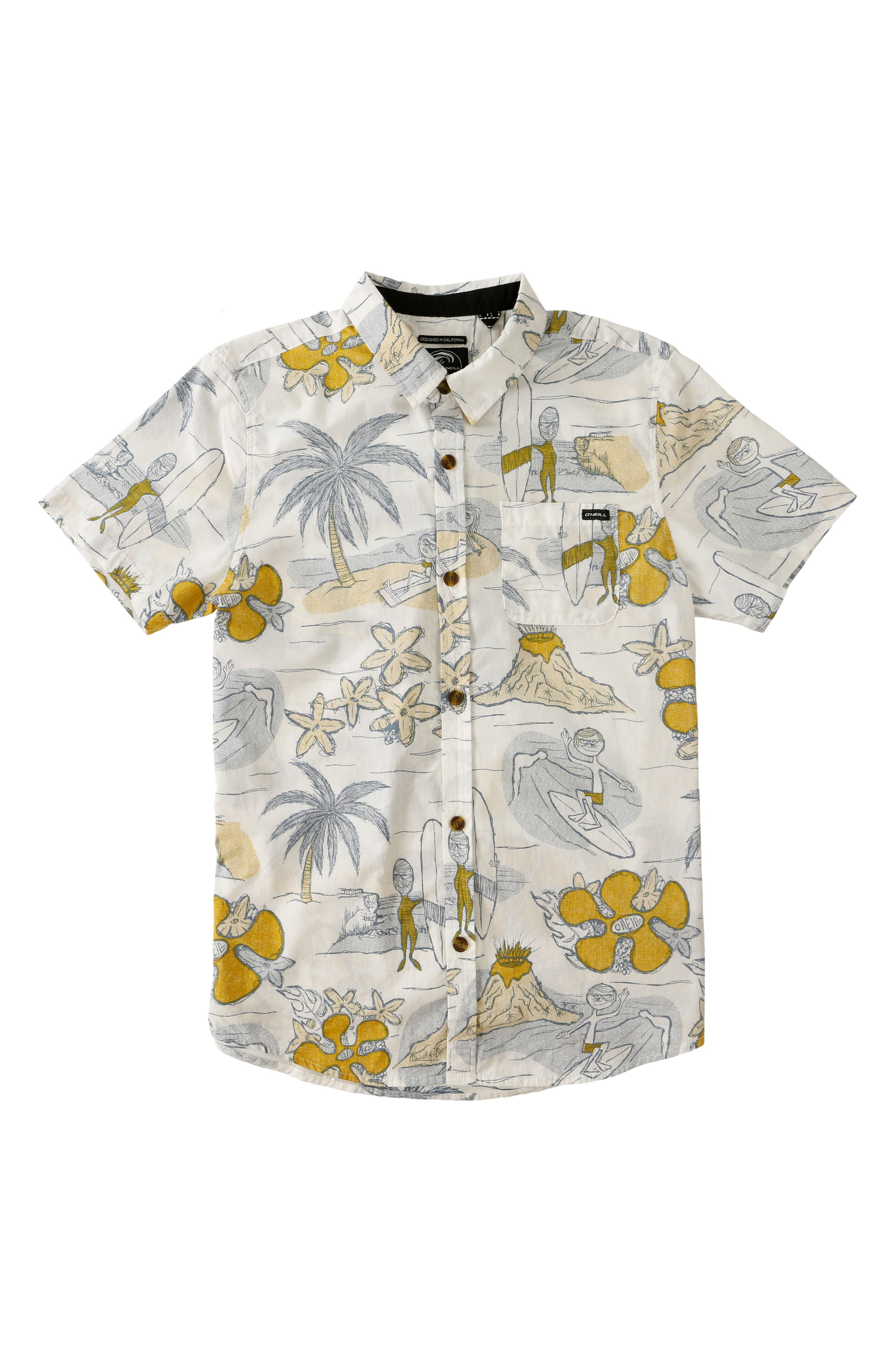 O'Neill Simich Woven Shirt (Toddler Boys & Little Boys)