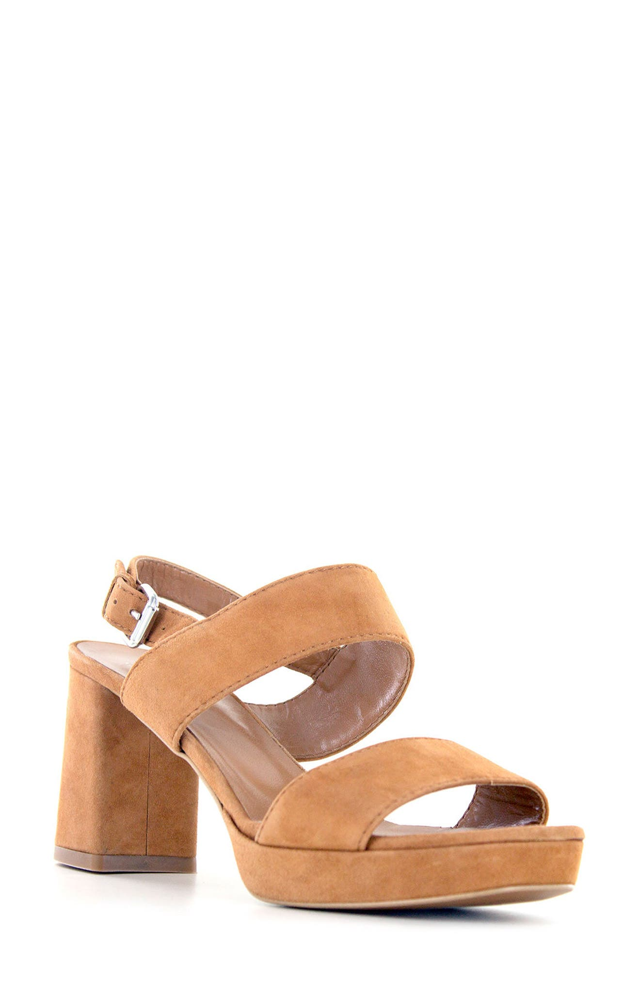 Summit Emilia Block Heel Sandal (Women)