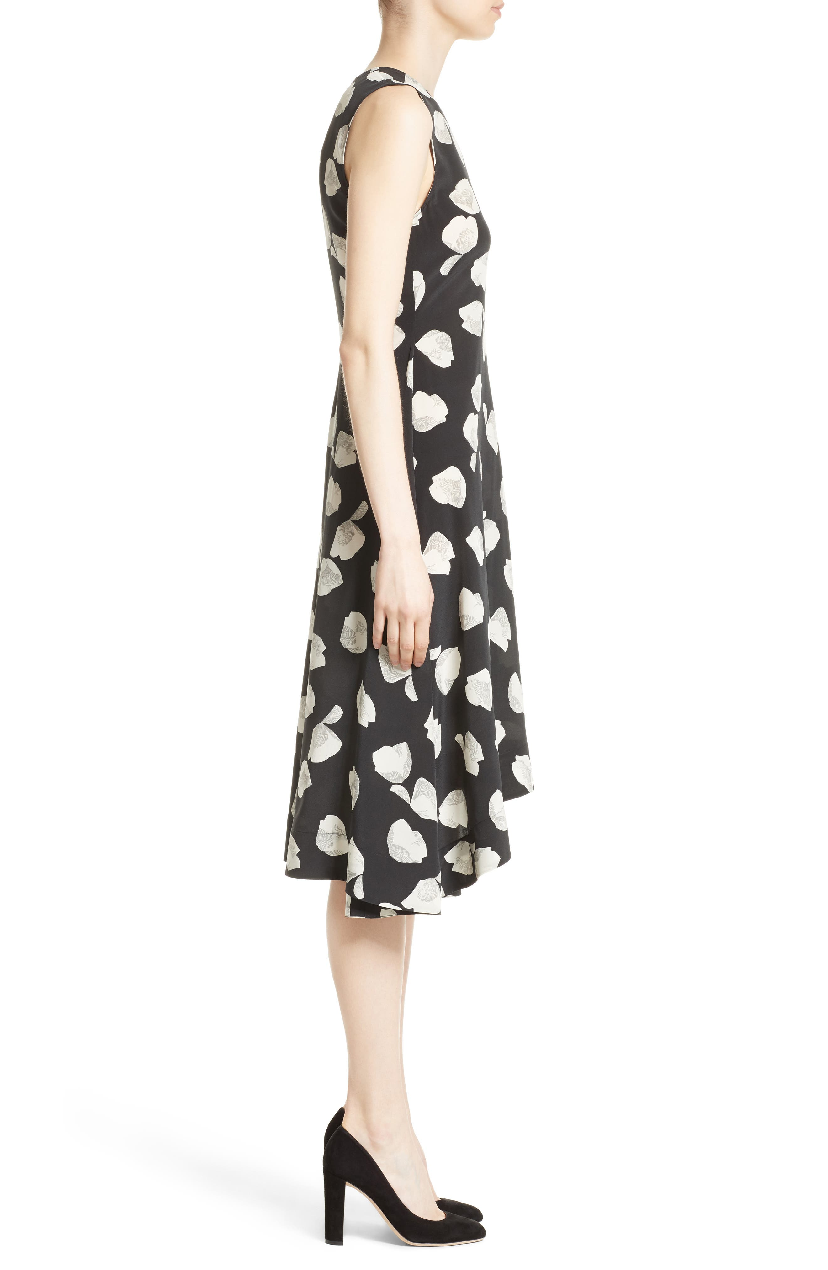 Alternate Image 3  - Theory Nophella B Harper Print Silk Dress
