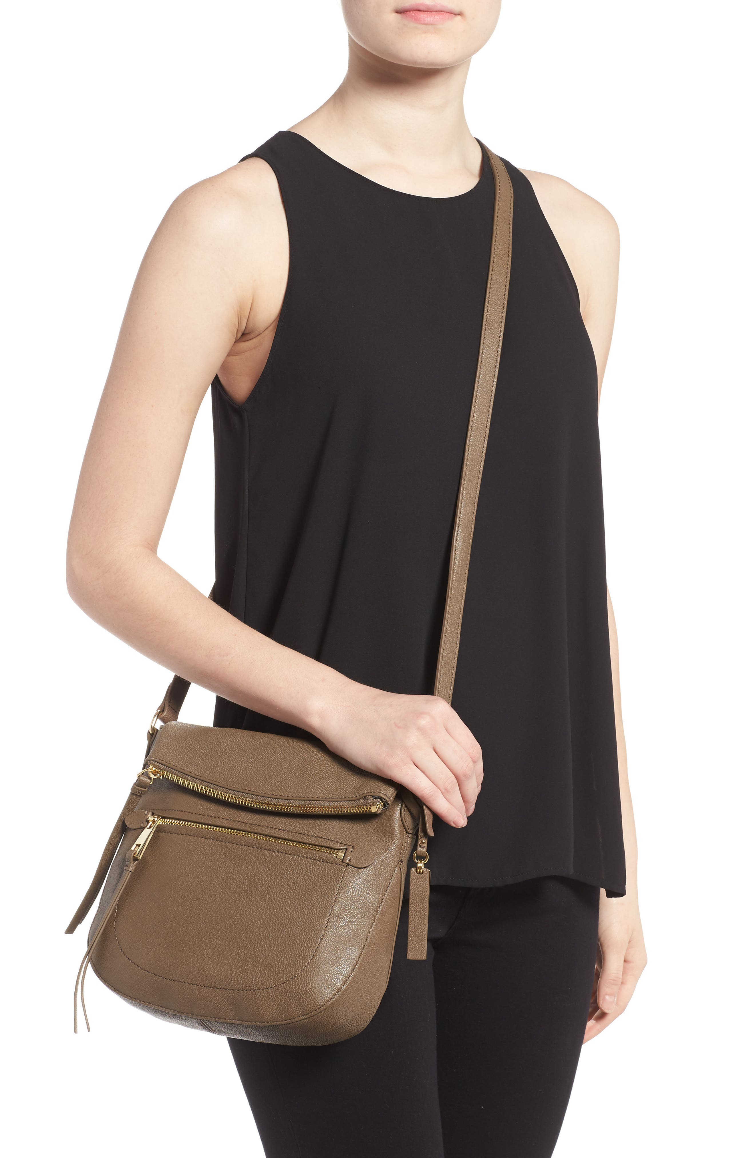 Alternate Image 2  - Vince Camuto 'Tala' Leather Crossbody Bag (Nordstrom Exclusive)