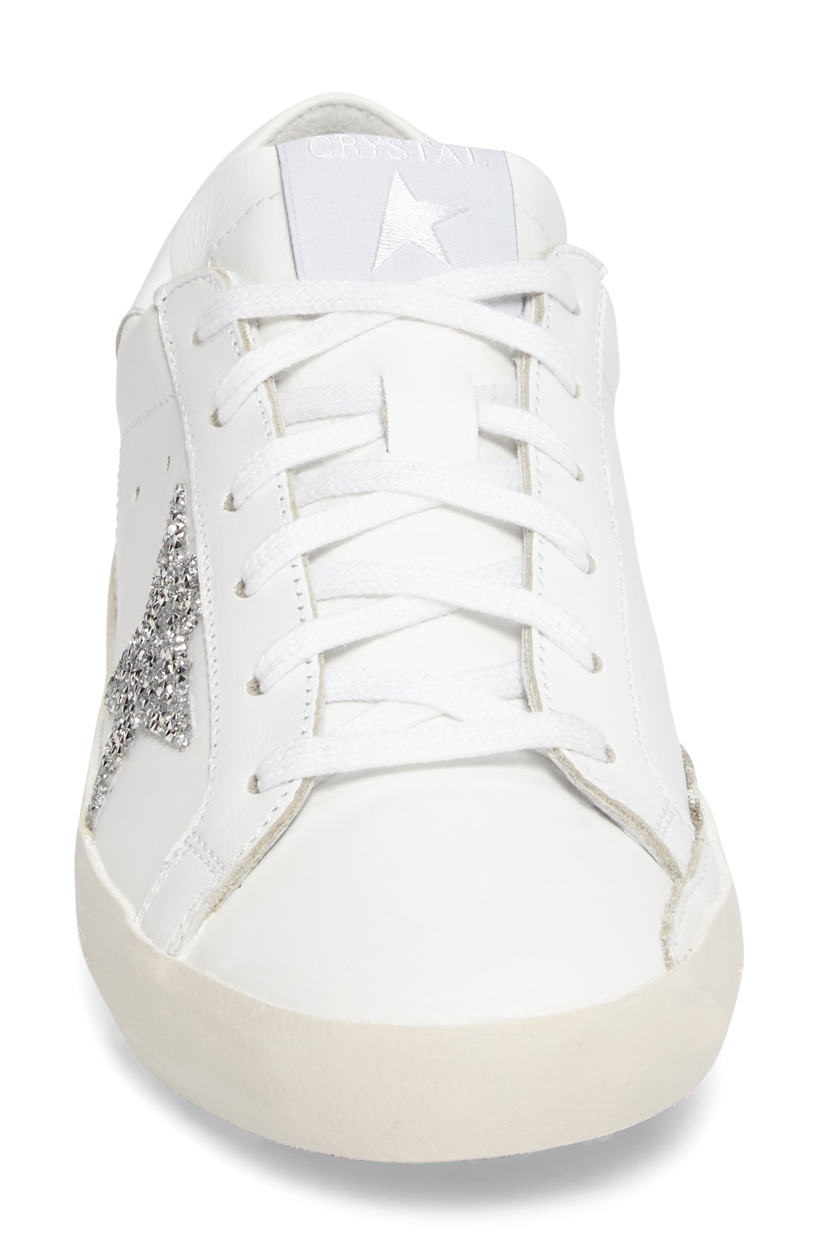 Alternate Image 3  - Golden Goose Superstar High Top Swarovski Crystal Sneaker (Women)