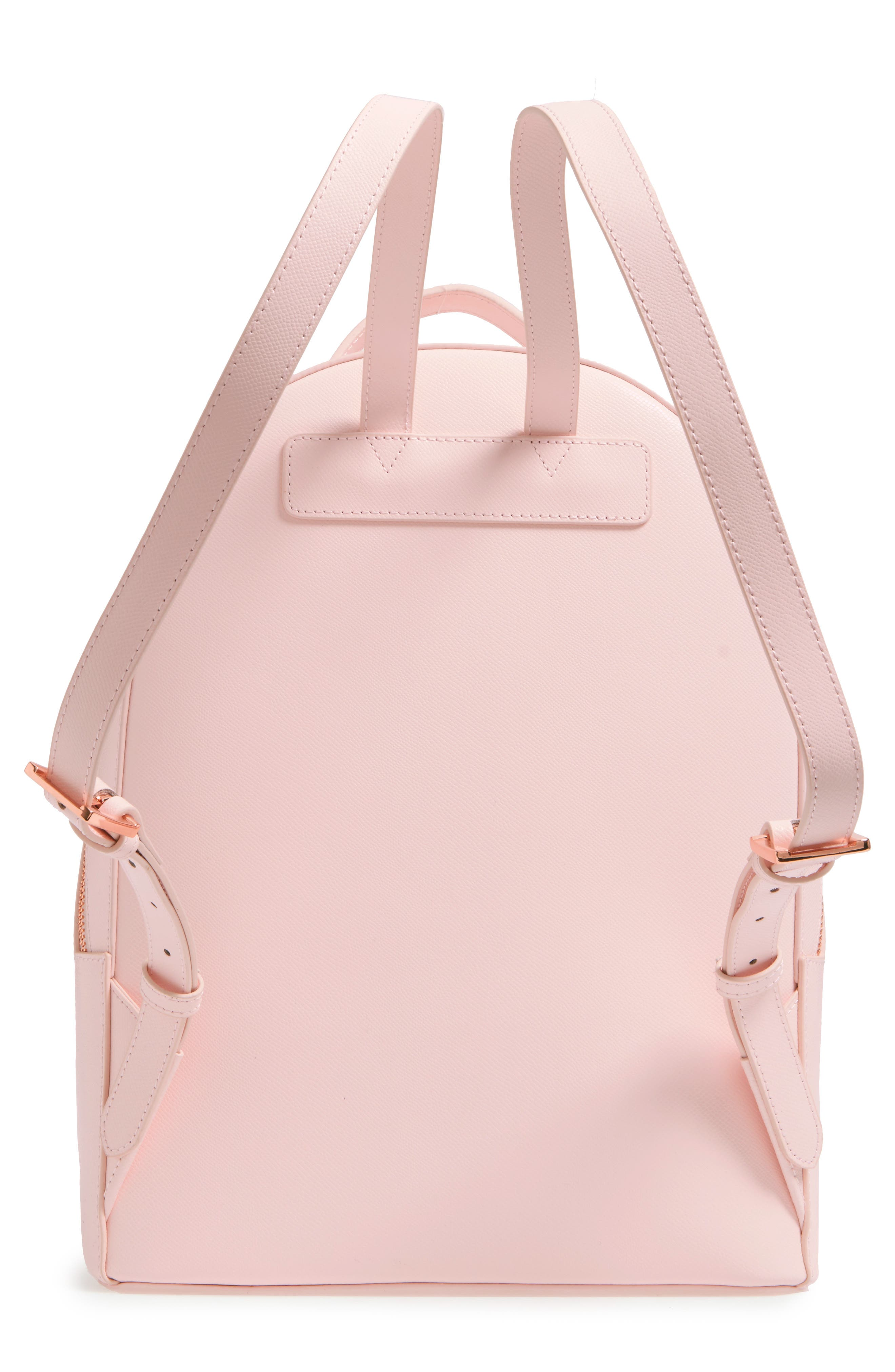 Alternate Image 3  - Ted Baker London Mini Jarvis Leather Backpack
