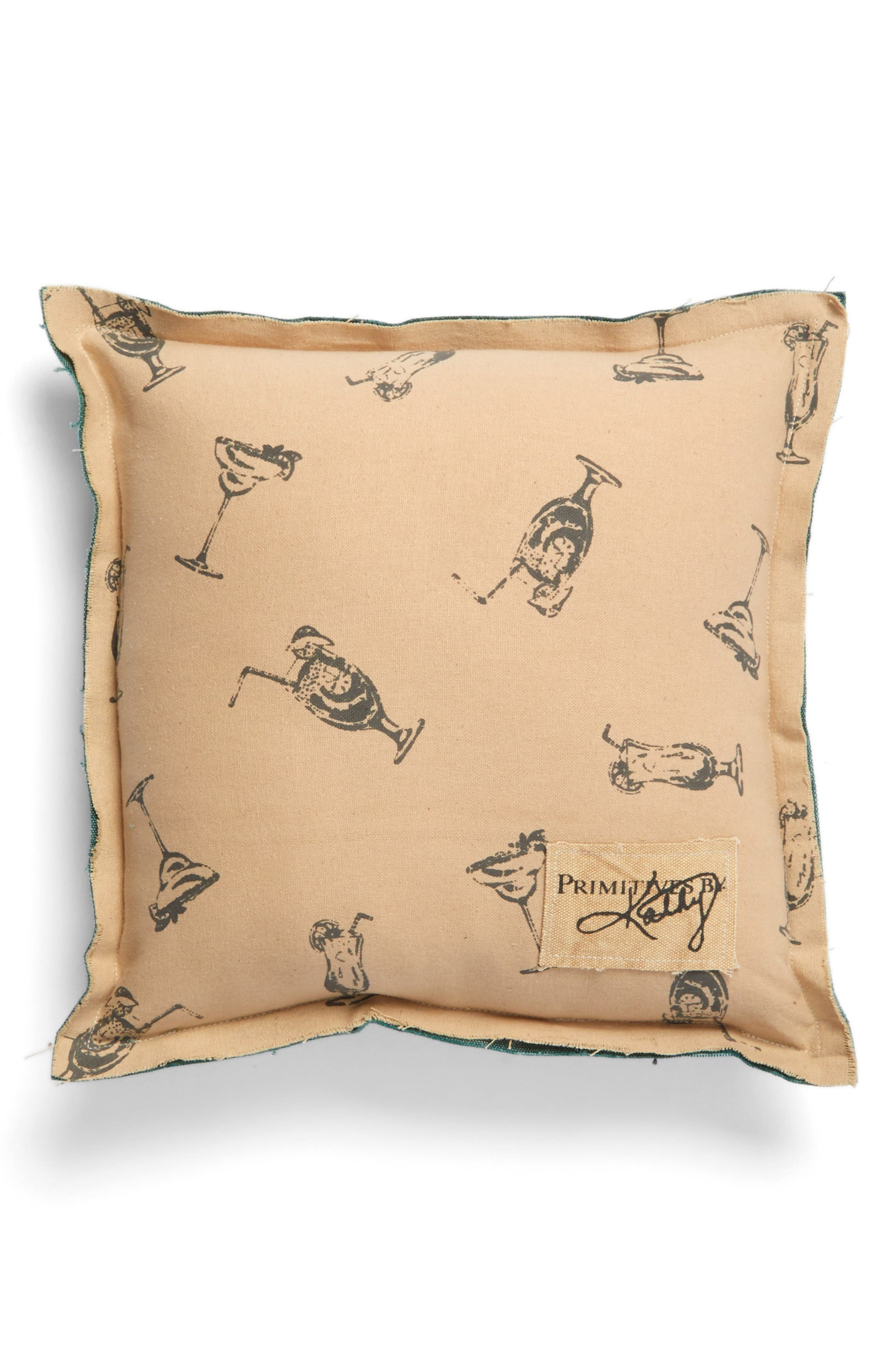 Alternate Image 2  - Primitives by Kathy All She Does Accent Pillow