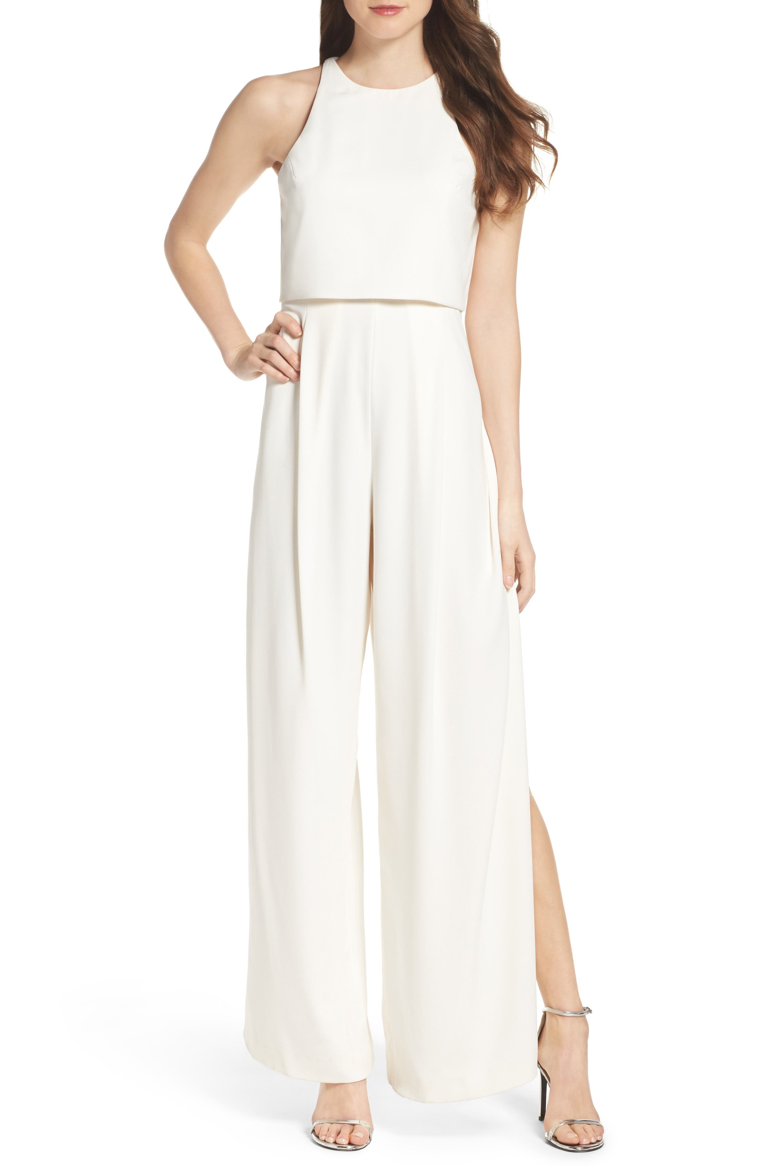 Alternate Image 1 Selected - Jill Jill Stuart Popover Jumpsuit