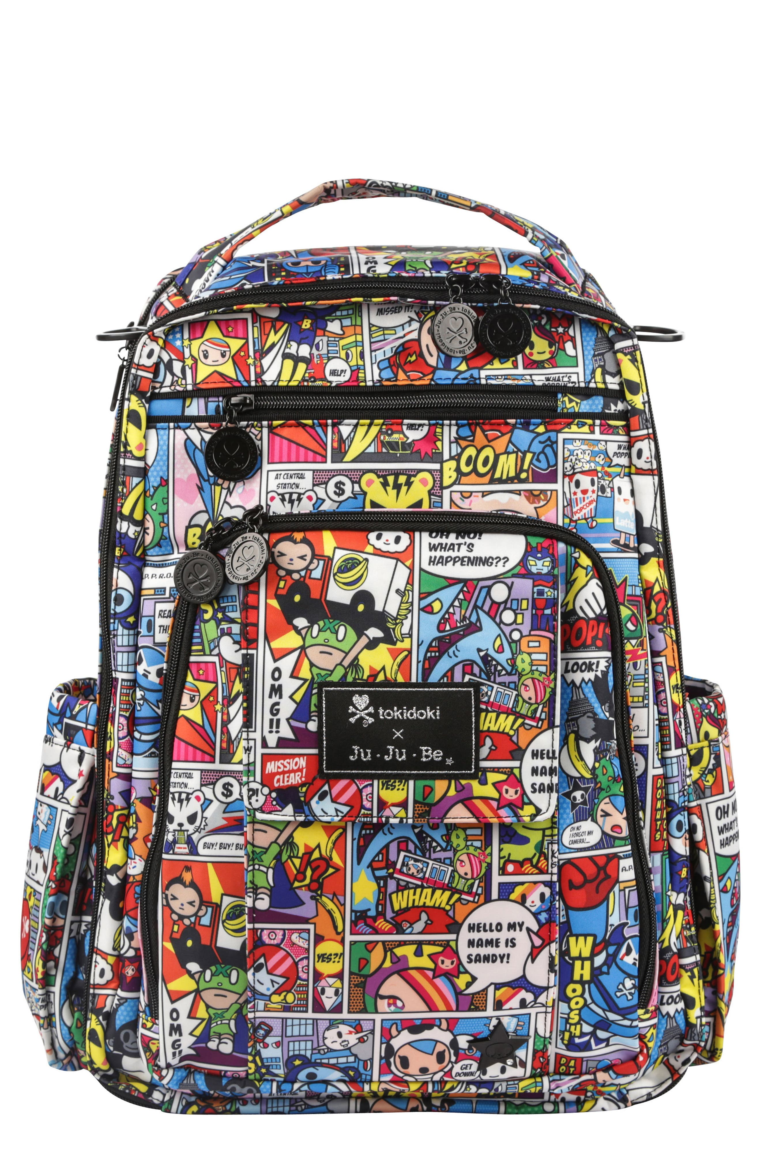 Alternate Image 1 Selected - tokidoki x Ju-Ju-Be 'Be Right Back' Diaper Backpack
