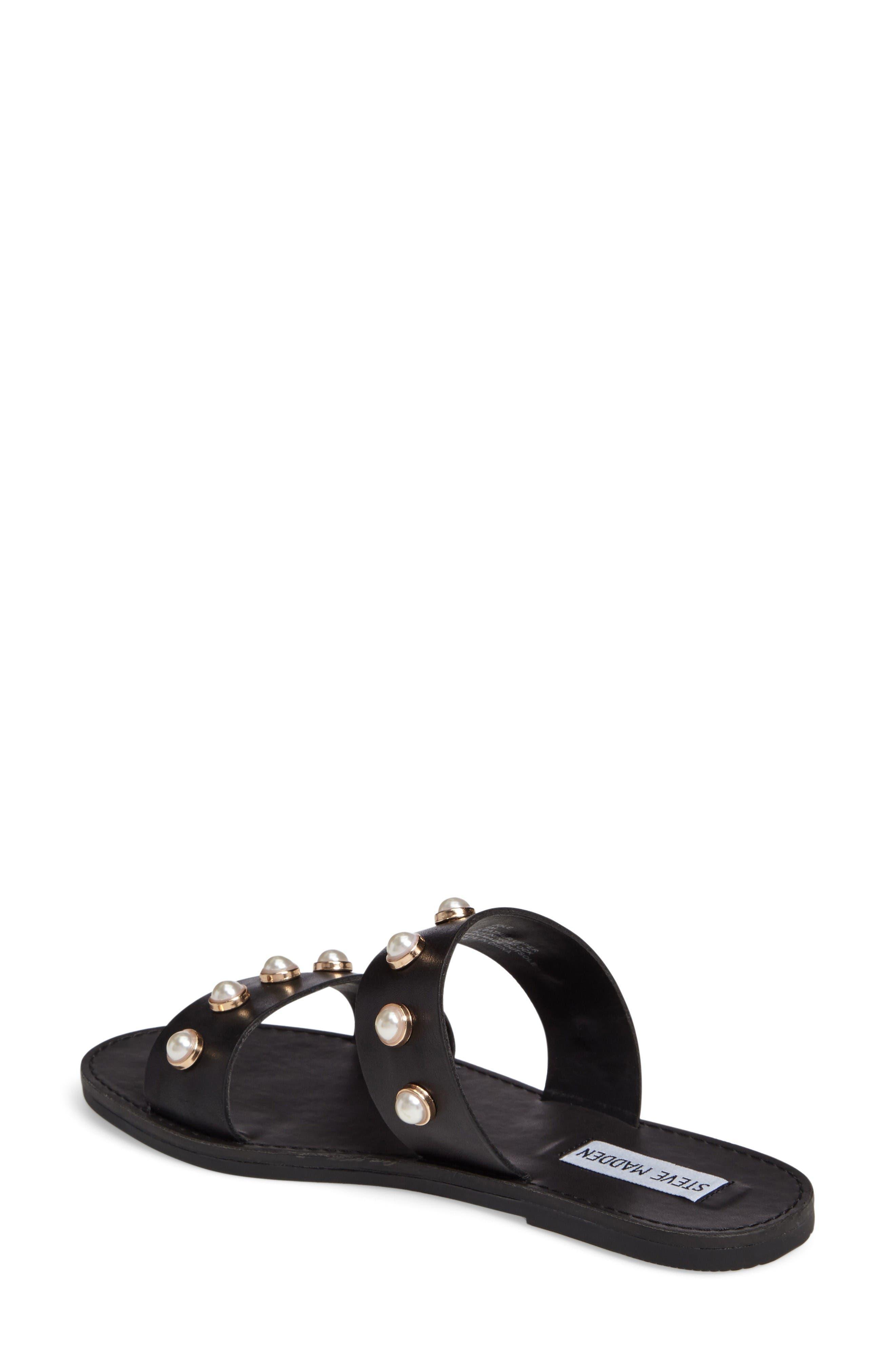 Alternate Image 2  - Steve Madden Jole Embellished Slide Sandal (Women)