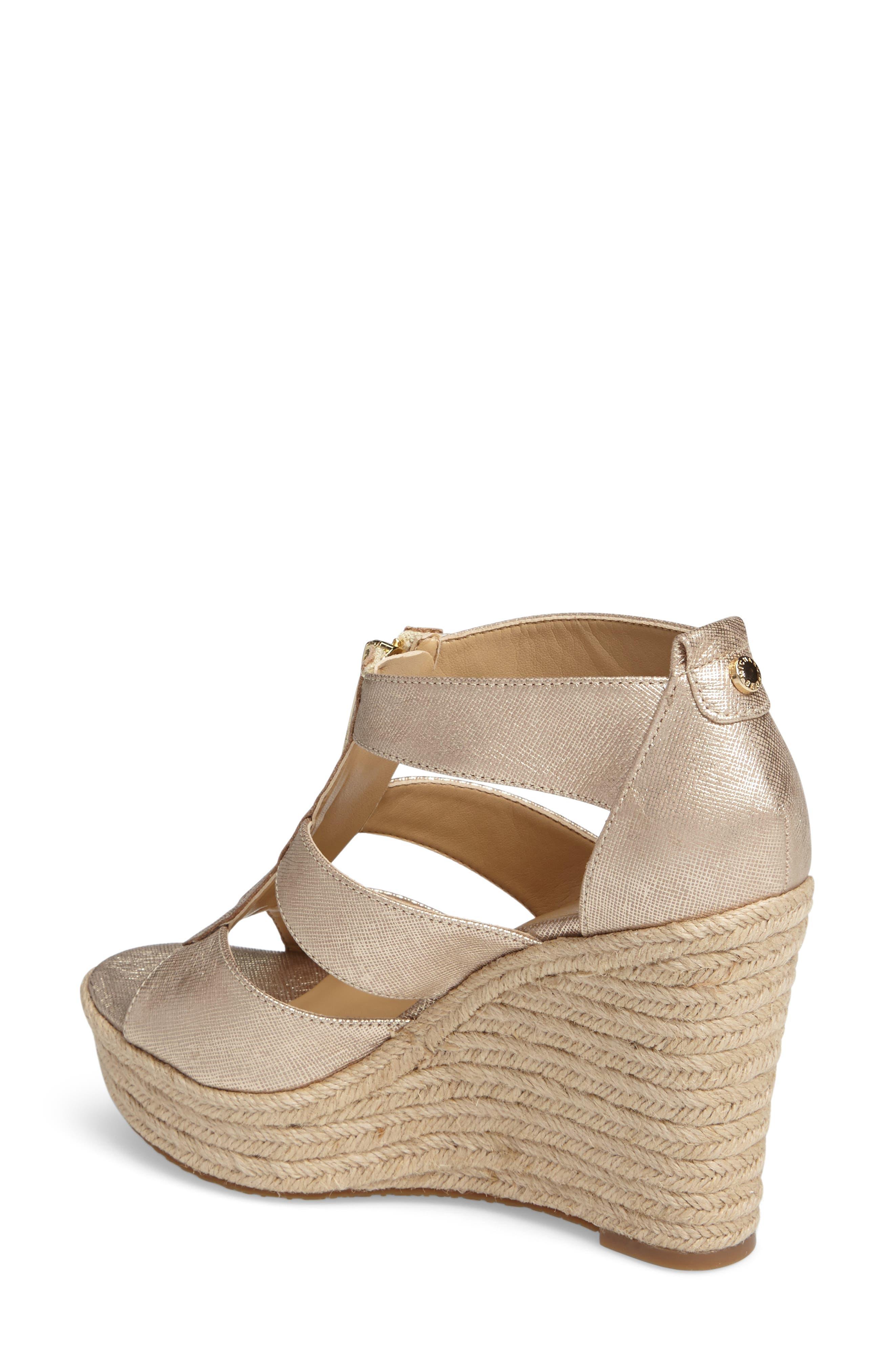 Alternate Image 2  - MICHAEL Michael Kors 'Damita' Wedge Sandal (Women)
