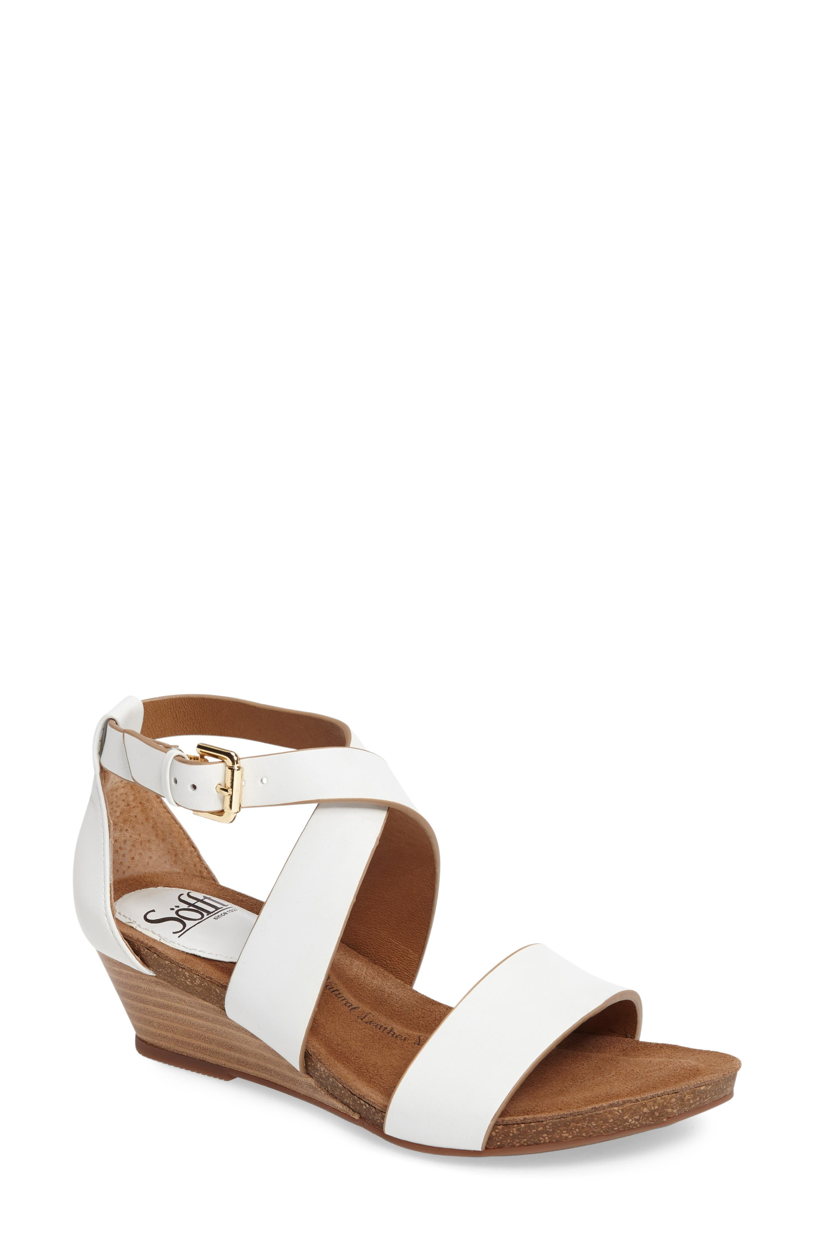Söfft Vita Strappy Wedge Sandal (Women)