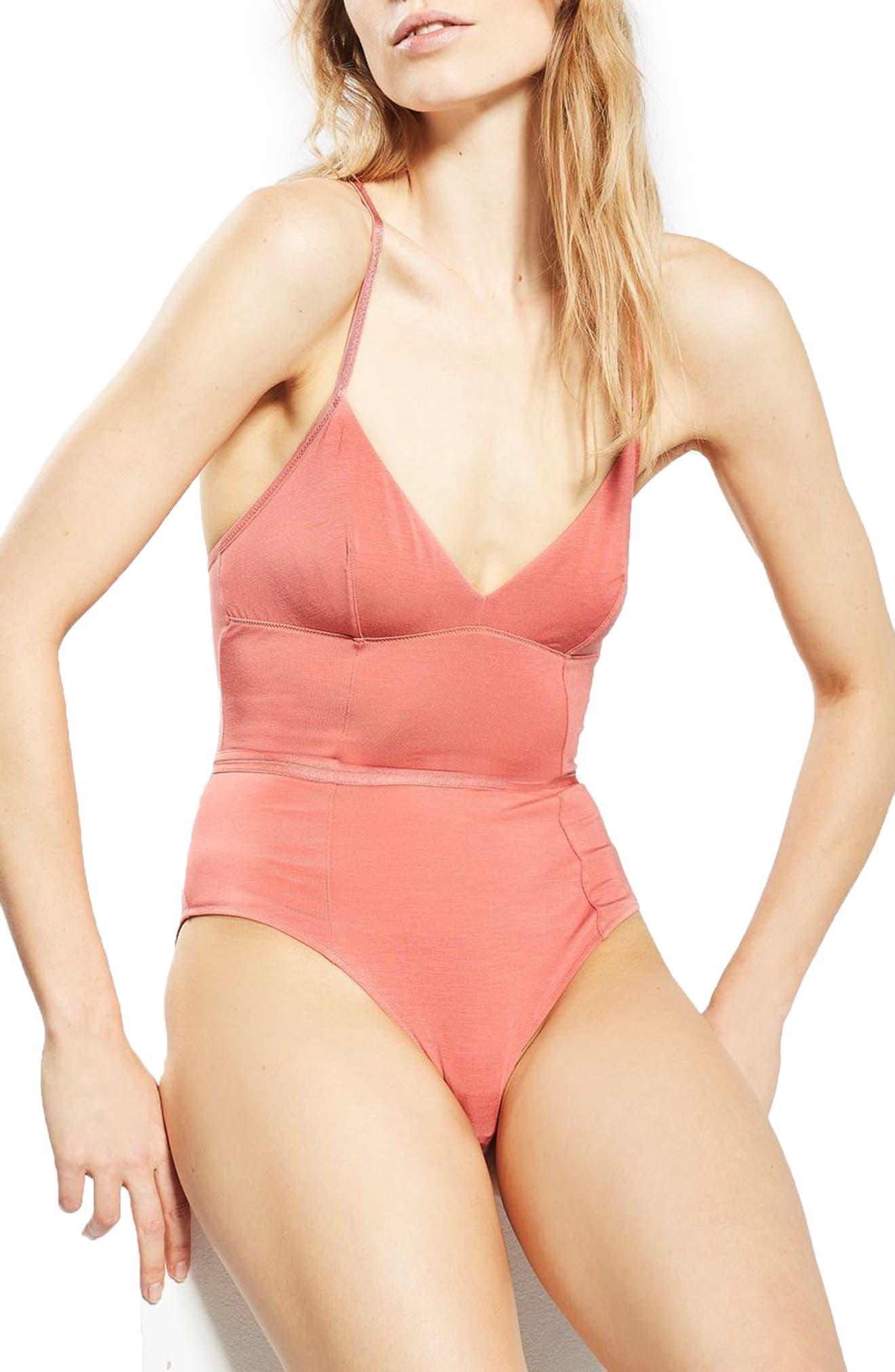 Alternate Image 1 Selected - Topshop Pure Zen Bodysuit