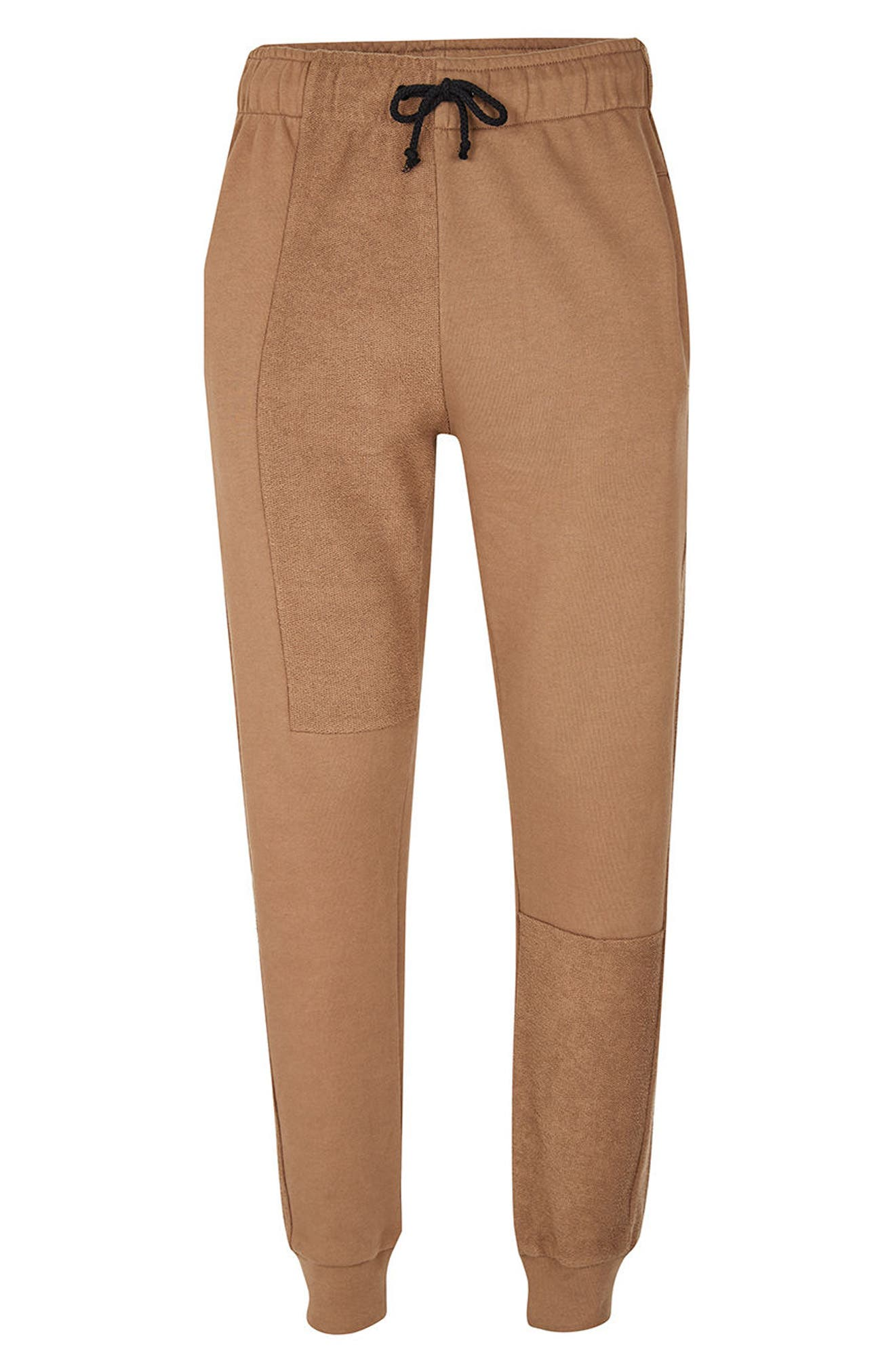 Alternate Image 5  - Topman AAA Collection Paneled Slim Fit Jogger Pants