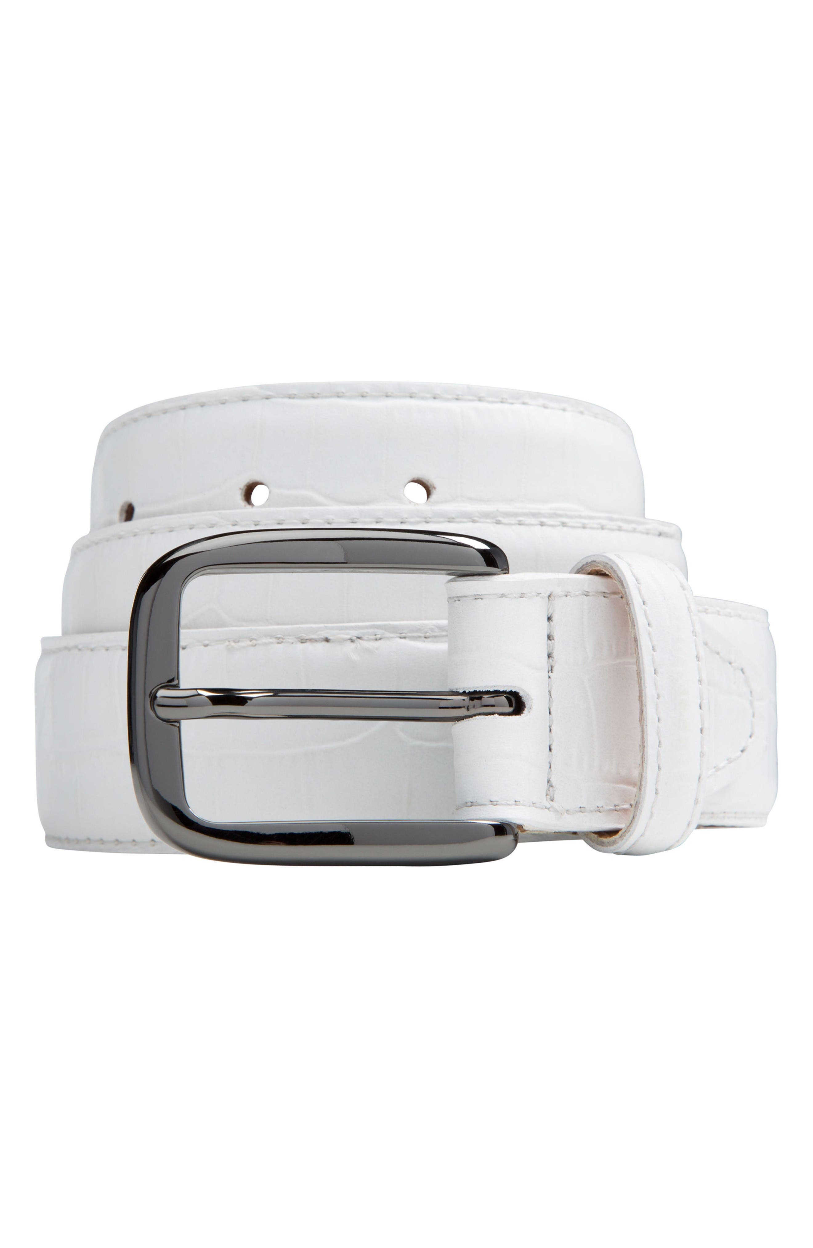 Bugatchi Leather Belt