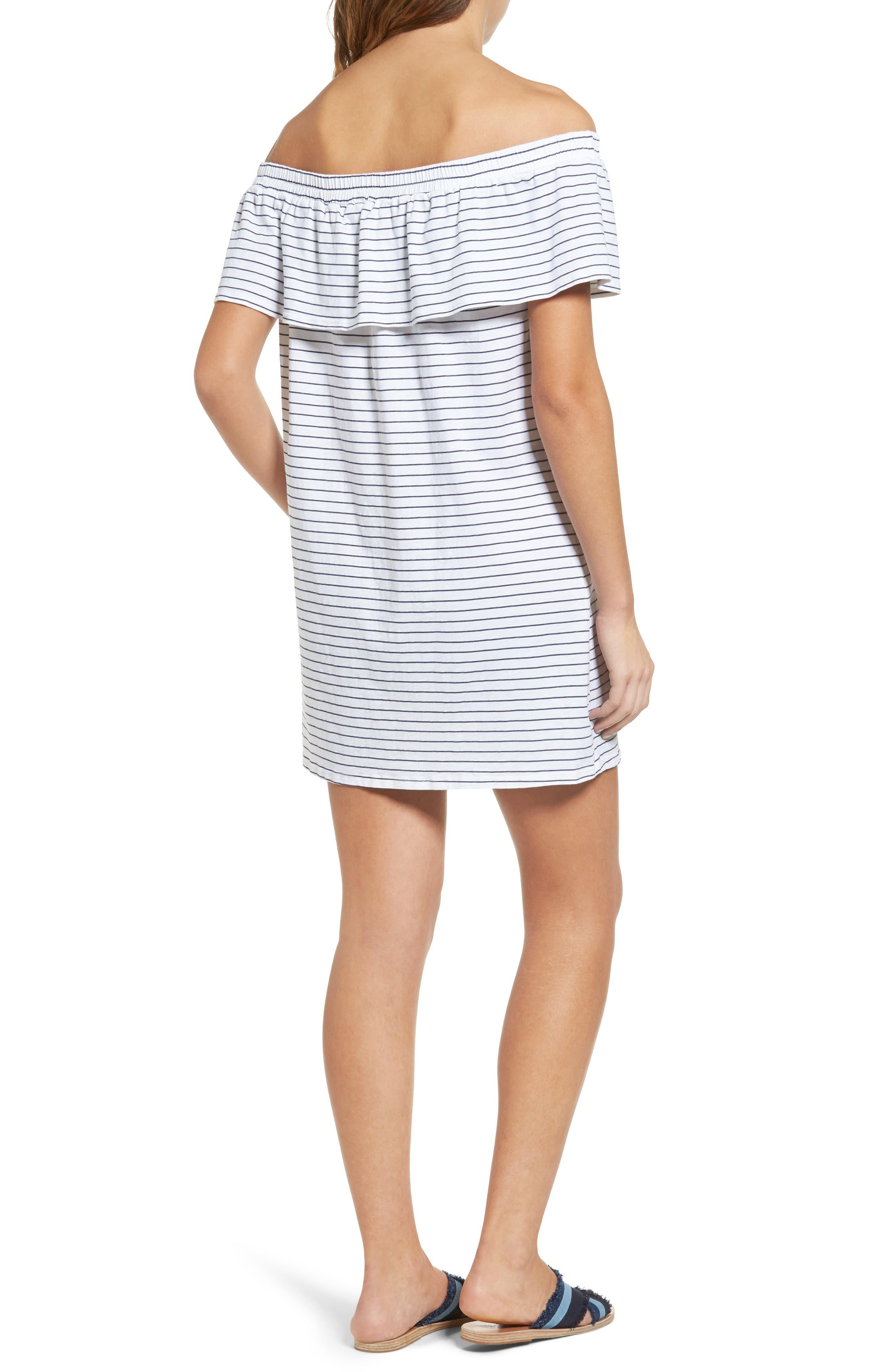 Alternate Image 2  - Sundry Ruffle Off the Shoulder Dress