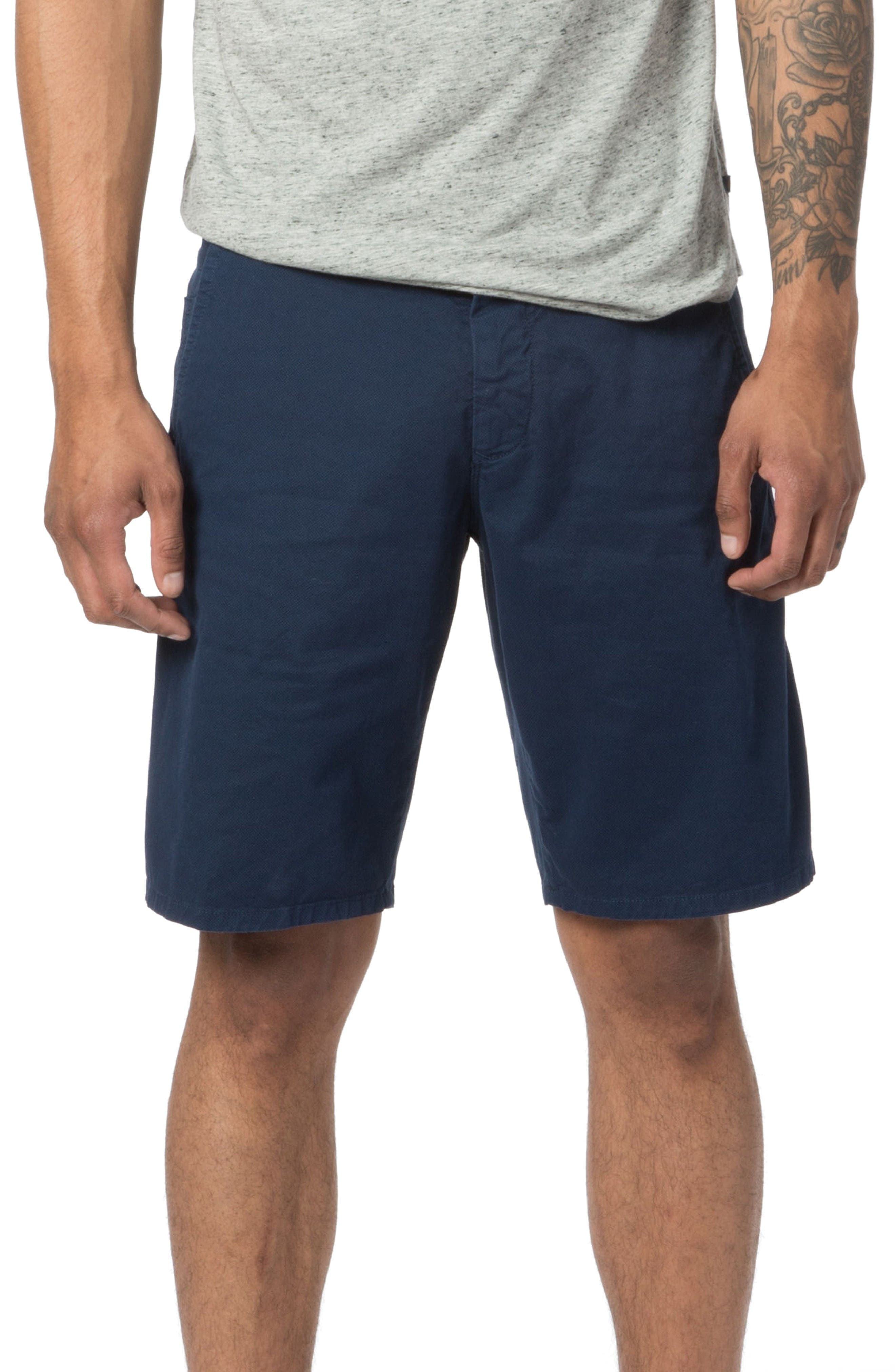 Good Man Brand Modern Fit Micro Pattern Chino Shorts