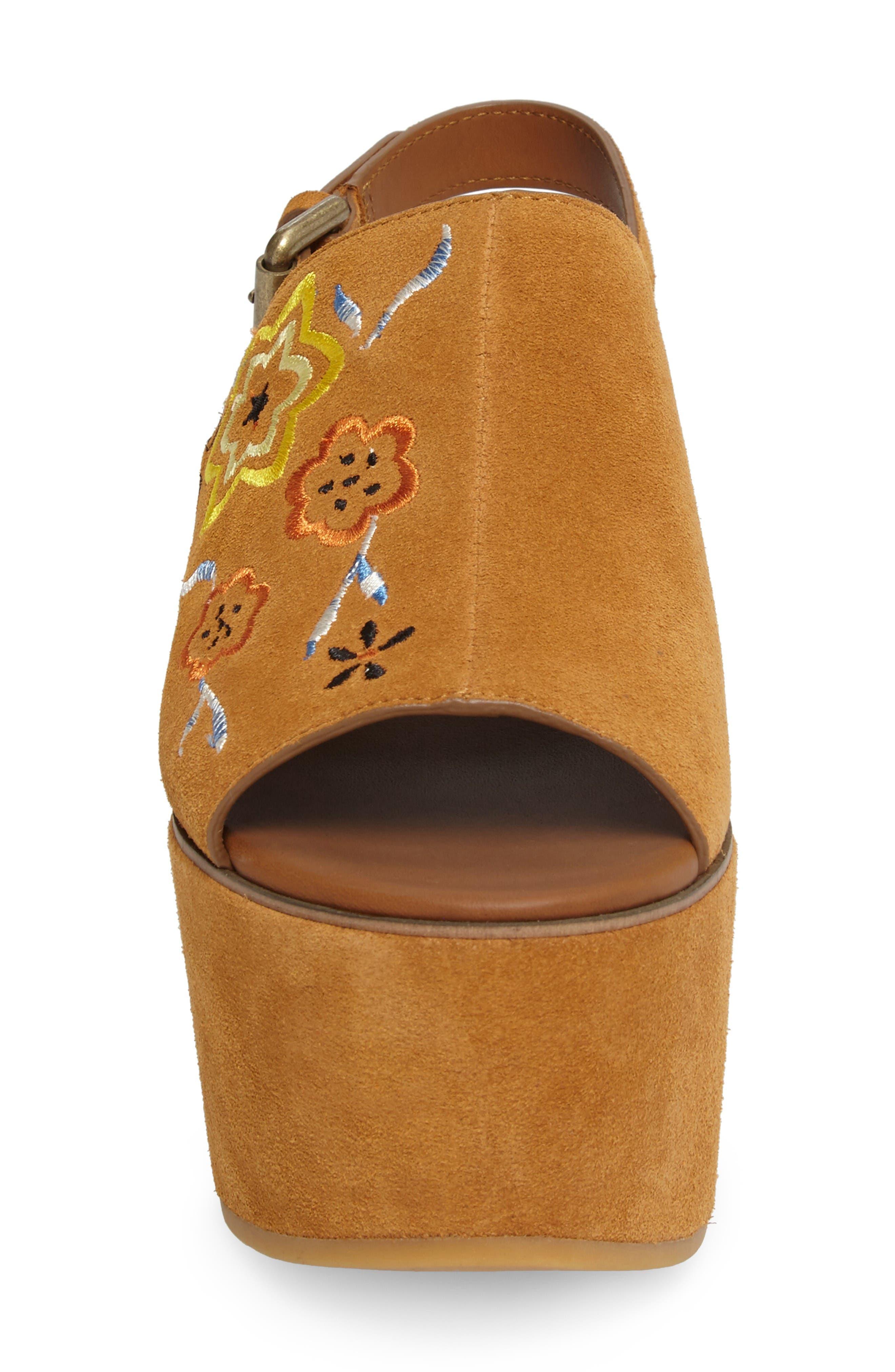 Alternate Image 4  - See by Chloé Dakota Platform Sandal (Women)