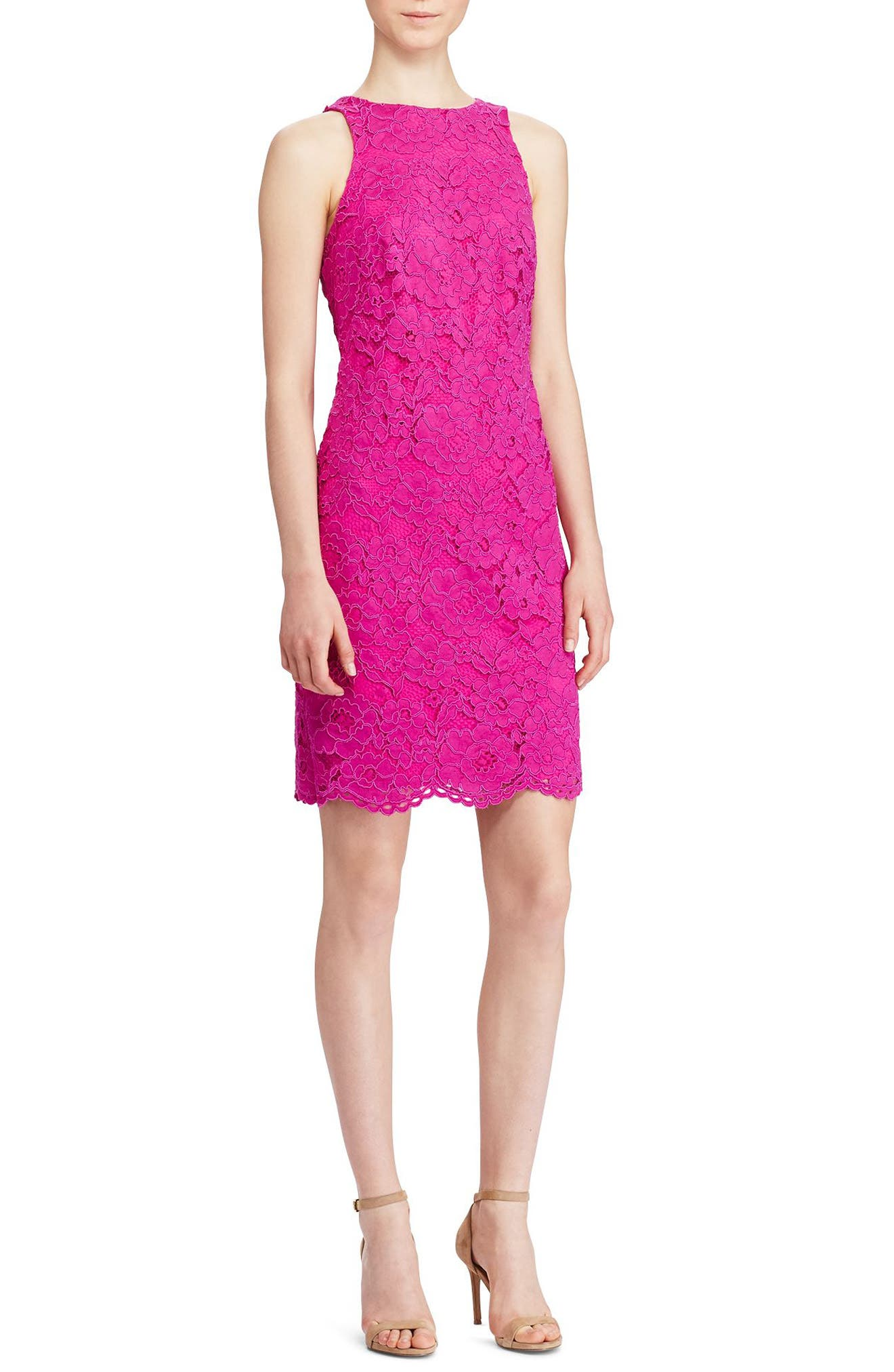 Lauren Ralph Lauren Corded Lace Dress
