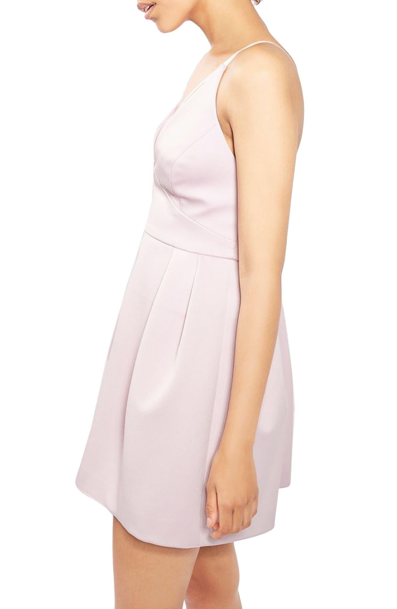 Alternate Image 3  - Topshop Cross Front Minidress