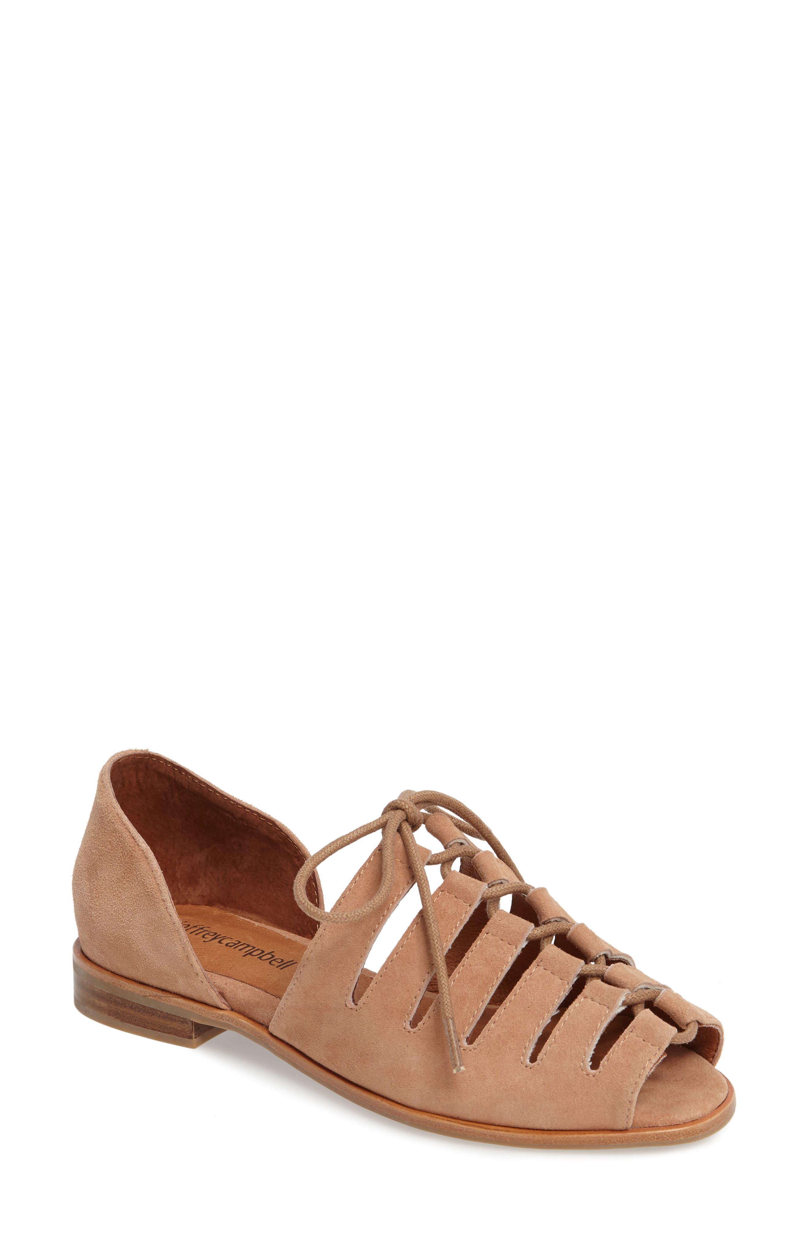 Jeffrey Campbell Lucca Flat Sandal (Women)