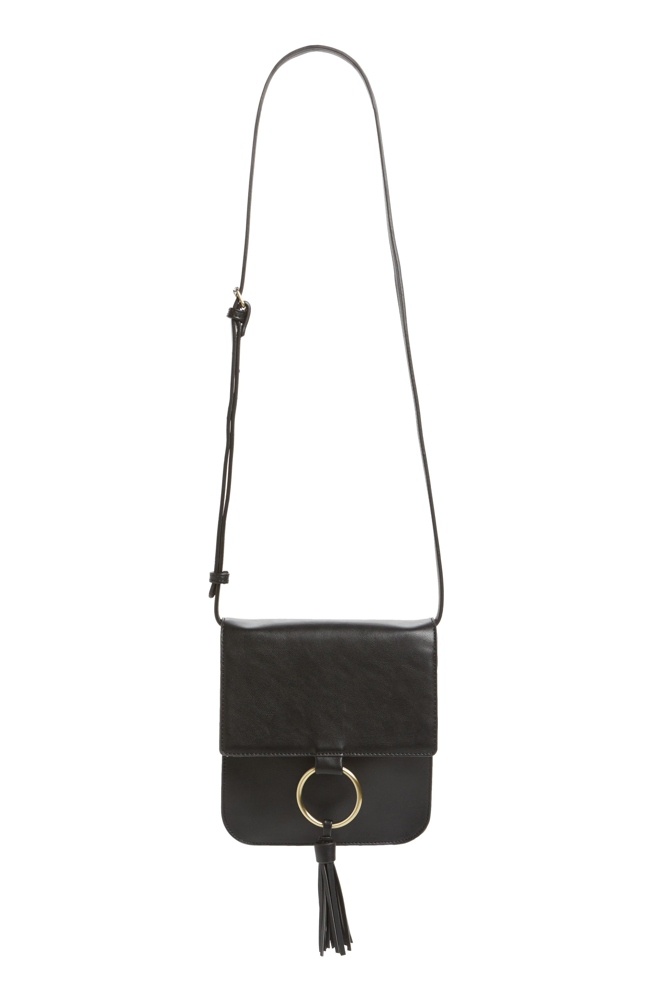 Alternate Image 1 Selected - Sole Society Square Crossbody Bag