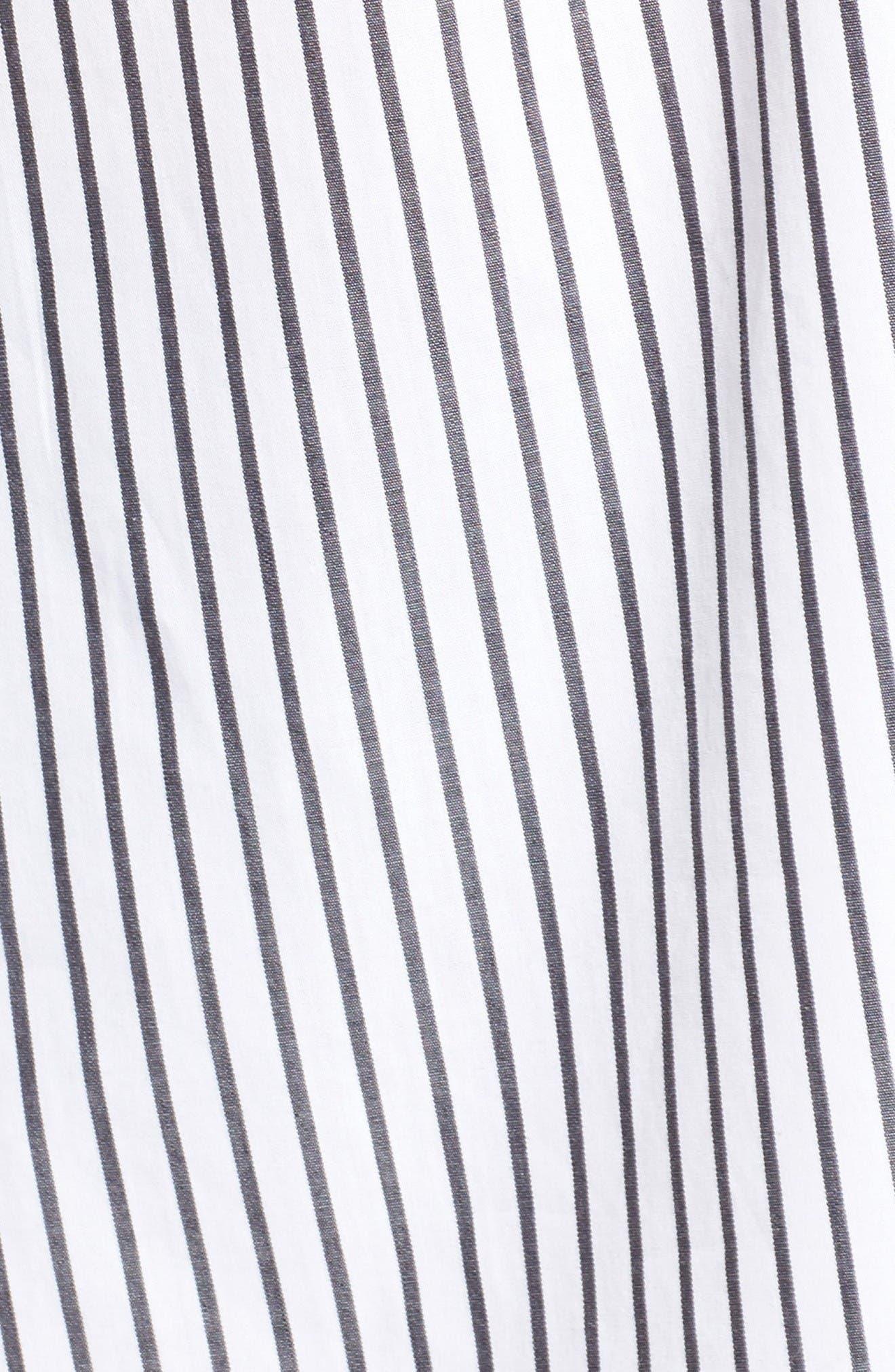 Alternate Image 5  - Lush Stripe Off the Shoulder Top