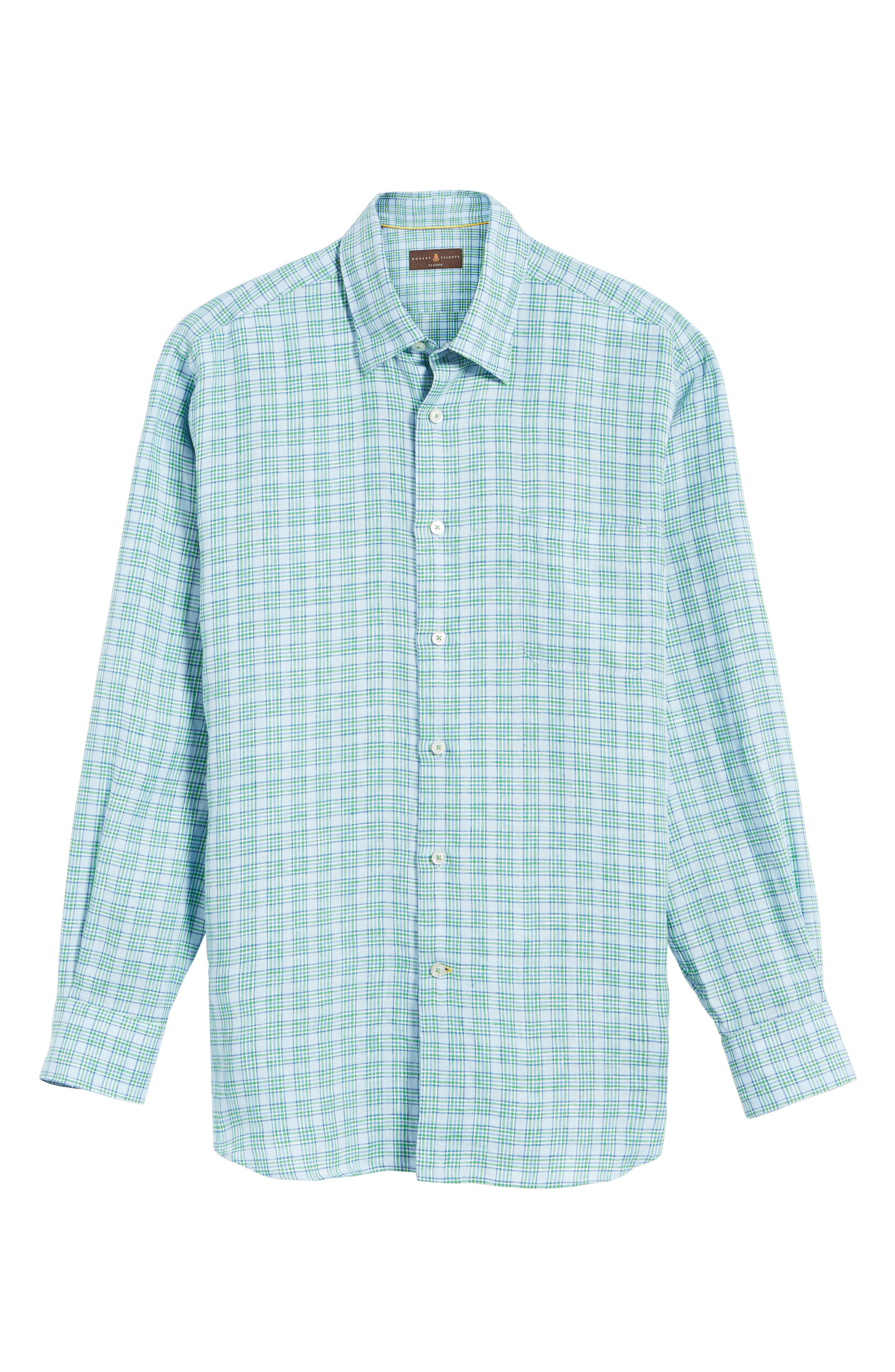 Alternate Image 6  - Robert Talbott Anderson Classic Fit Sport Shirt