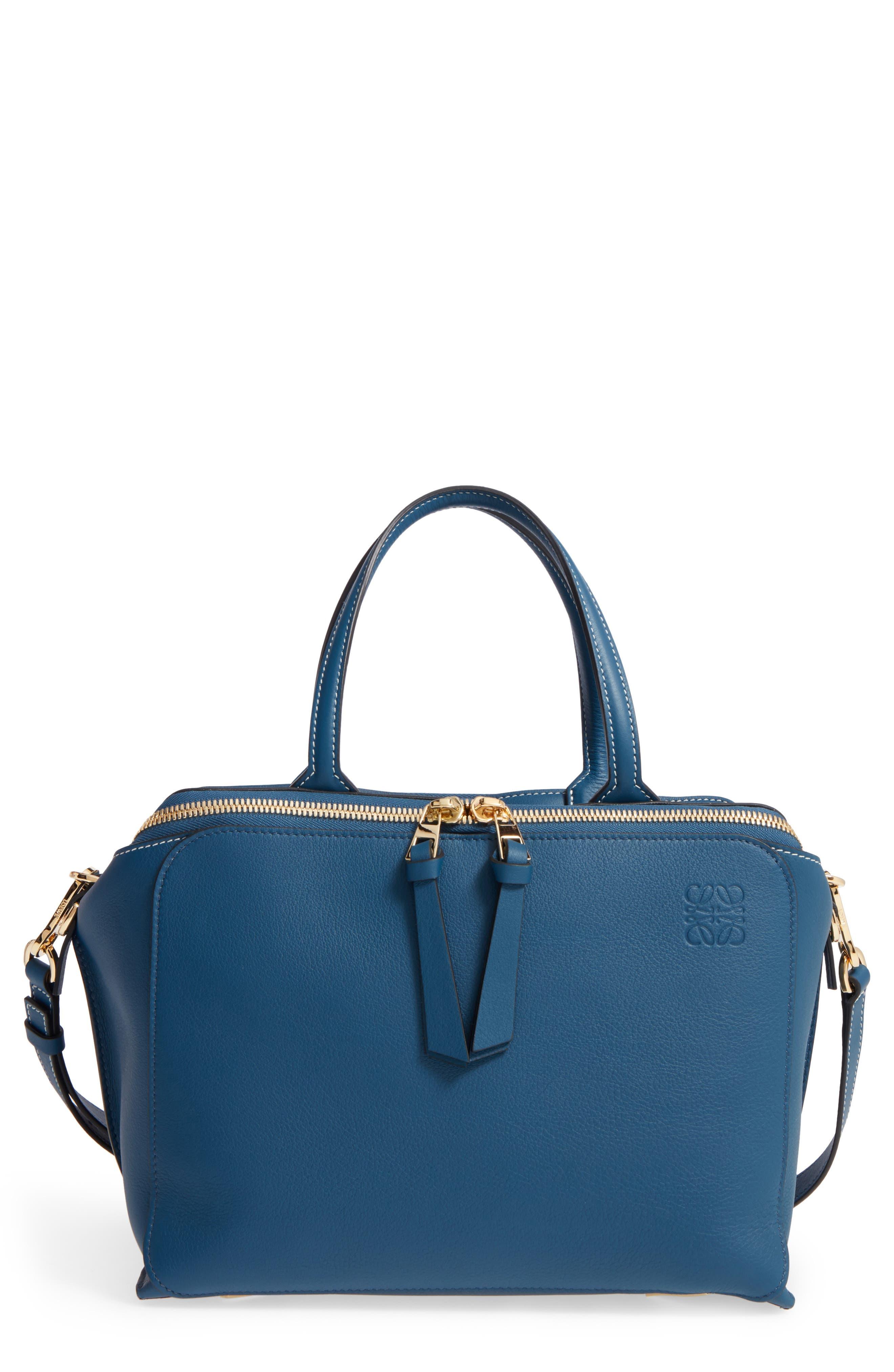 loewe triple zip calfkin satchel