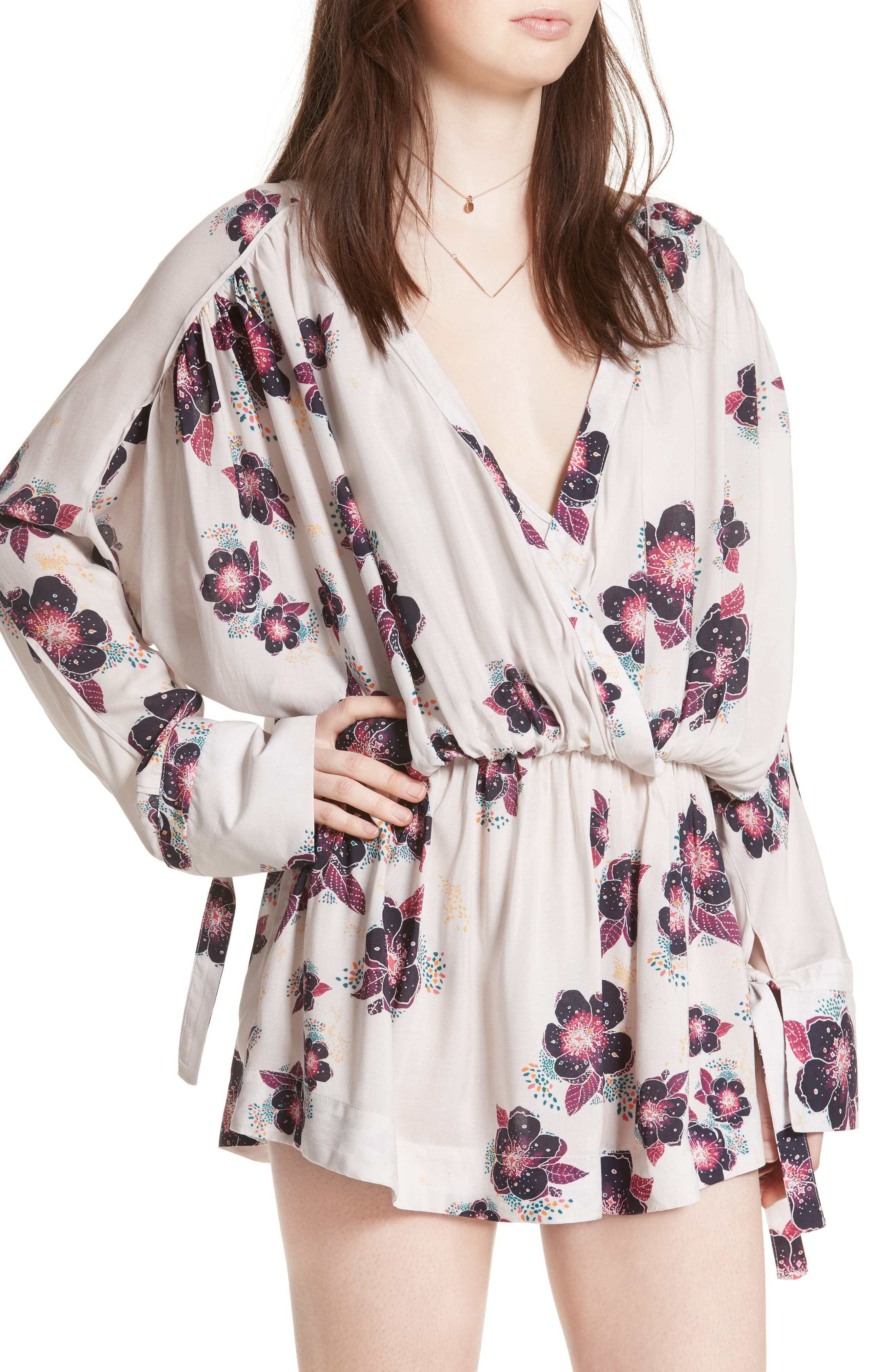 Alternate Image 4  - Free People Tuscan Dreams Tunic Dress