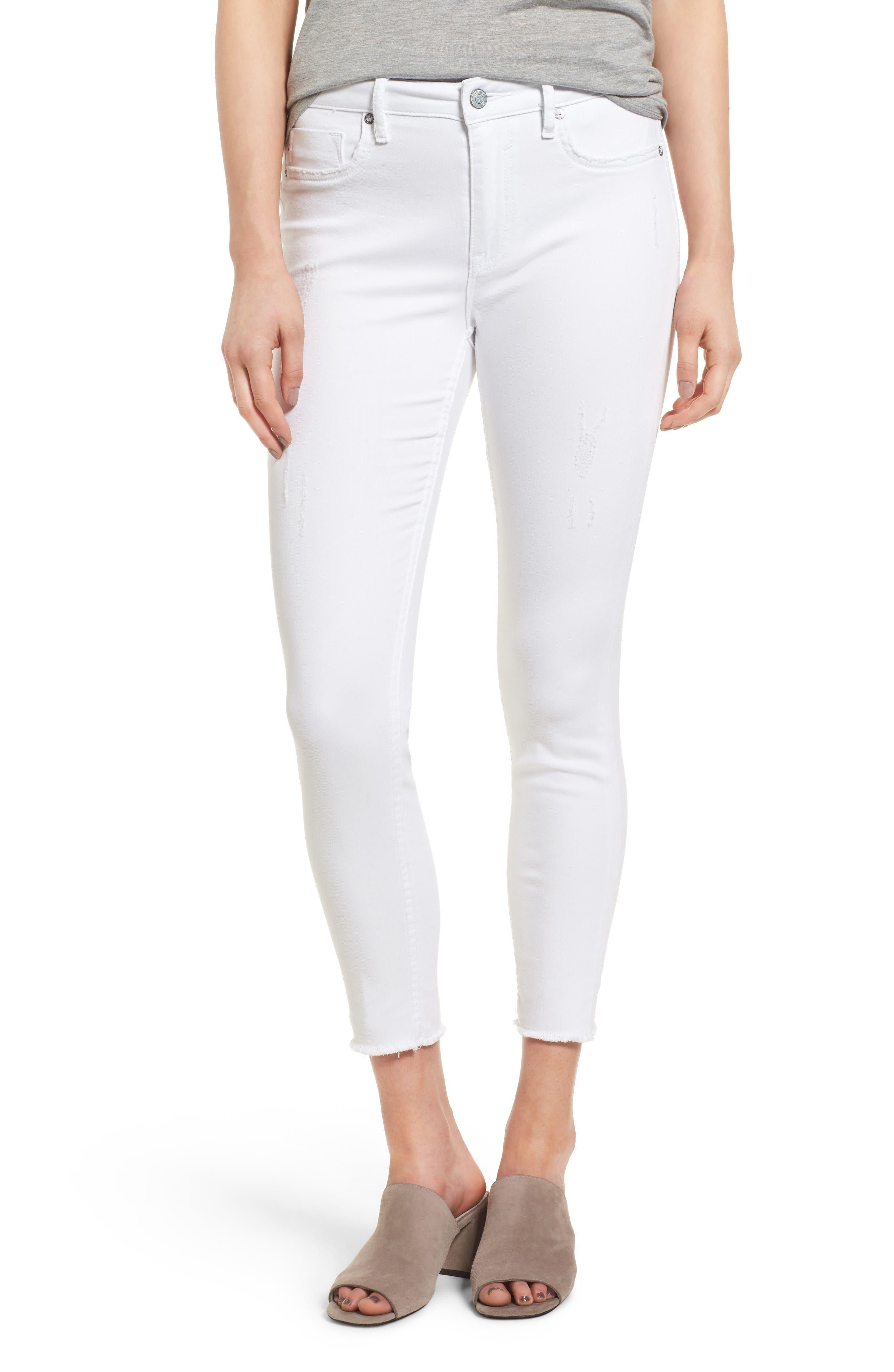 Vigoss Chelsea High Waist Crop Skinny Jeans