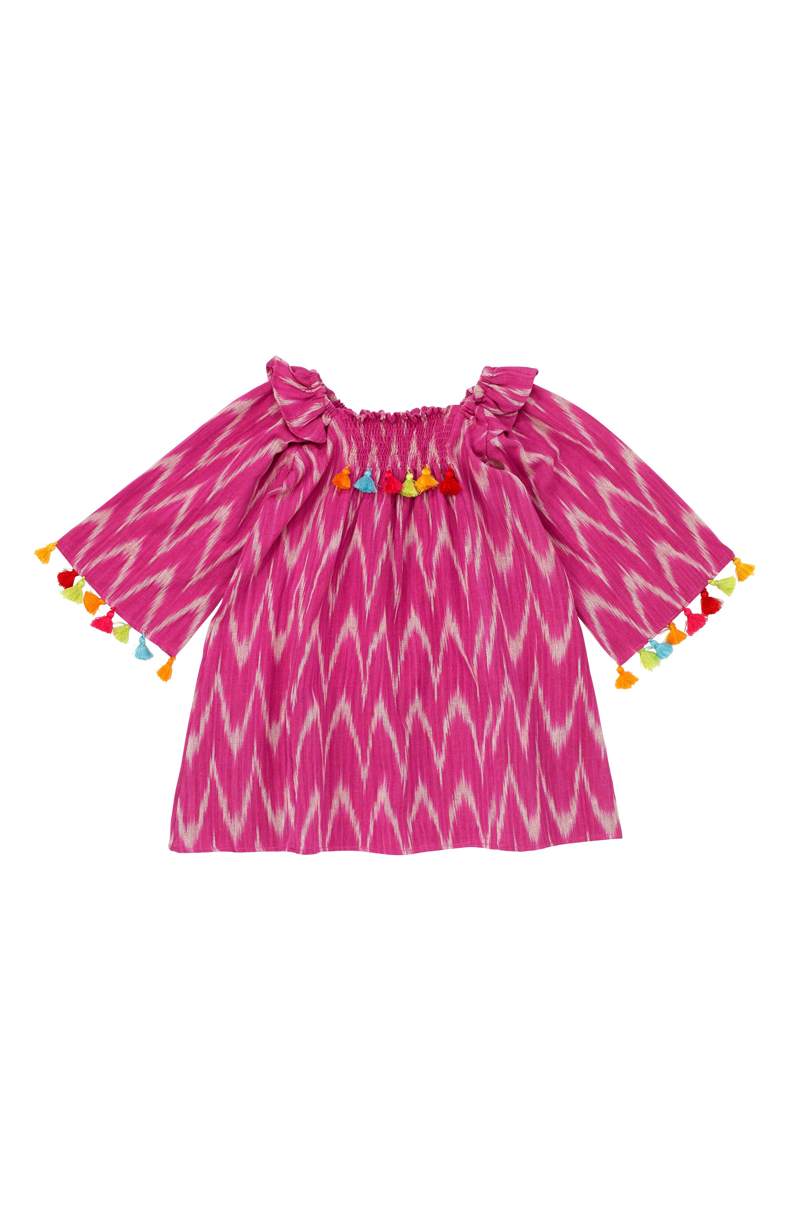 Masalababy Ekta Tassel Trim Top (Baby Girls)