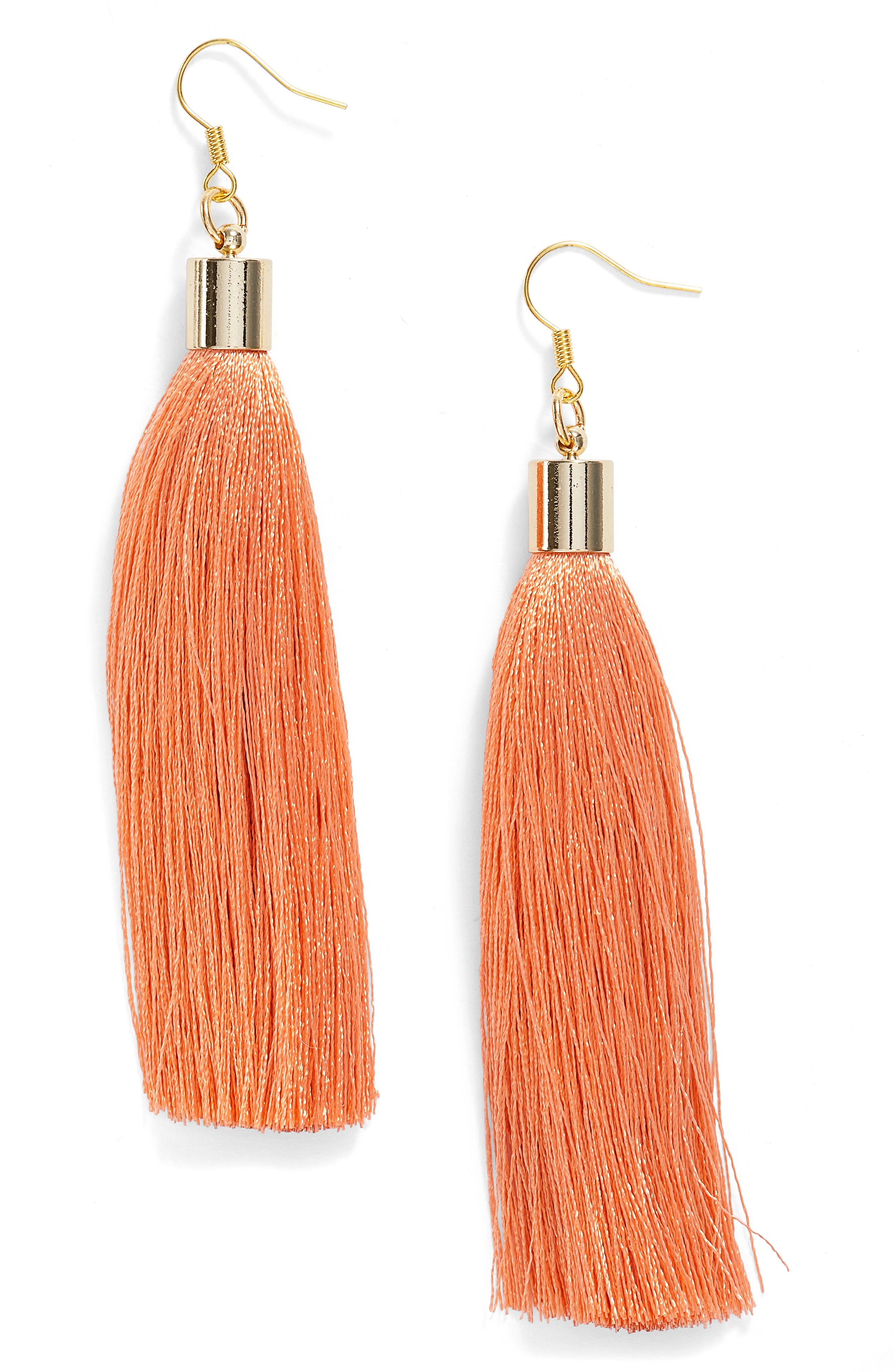 Alternate Image 1 Selected - Love's Affect Silk Tassel Earrings