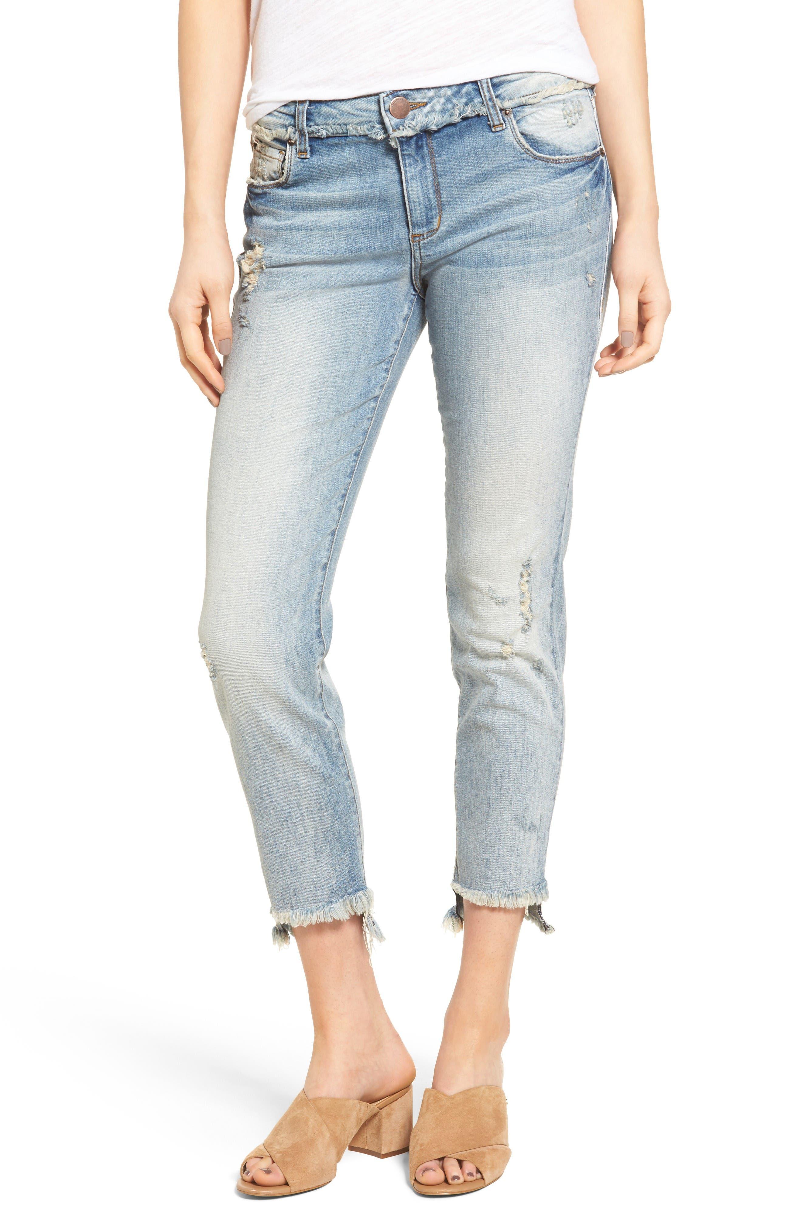 STS Blue Taylor Tomboy Fray Step Hem Jeans (Cima Dome)