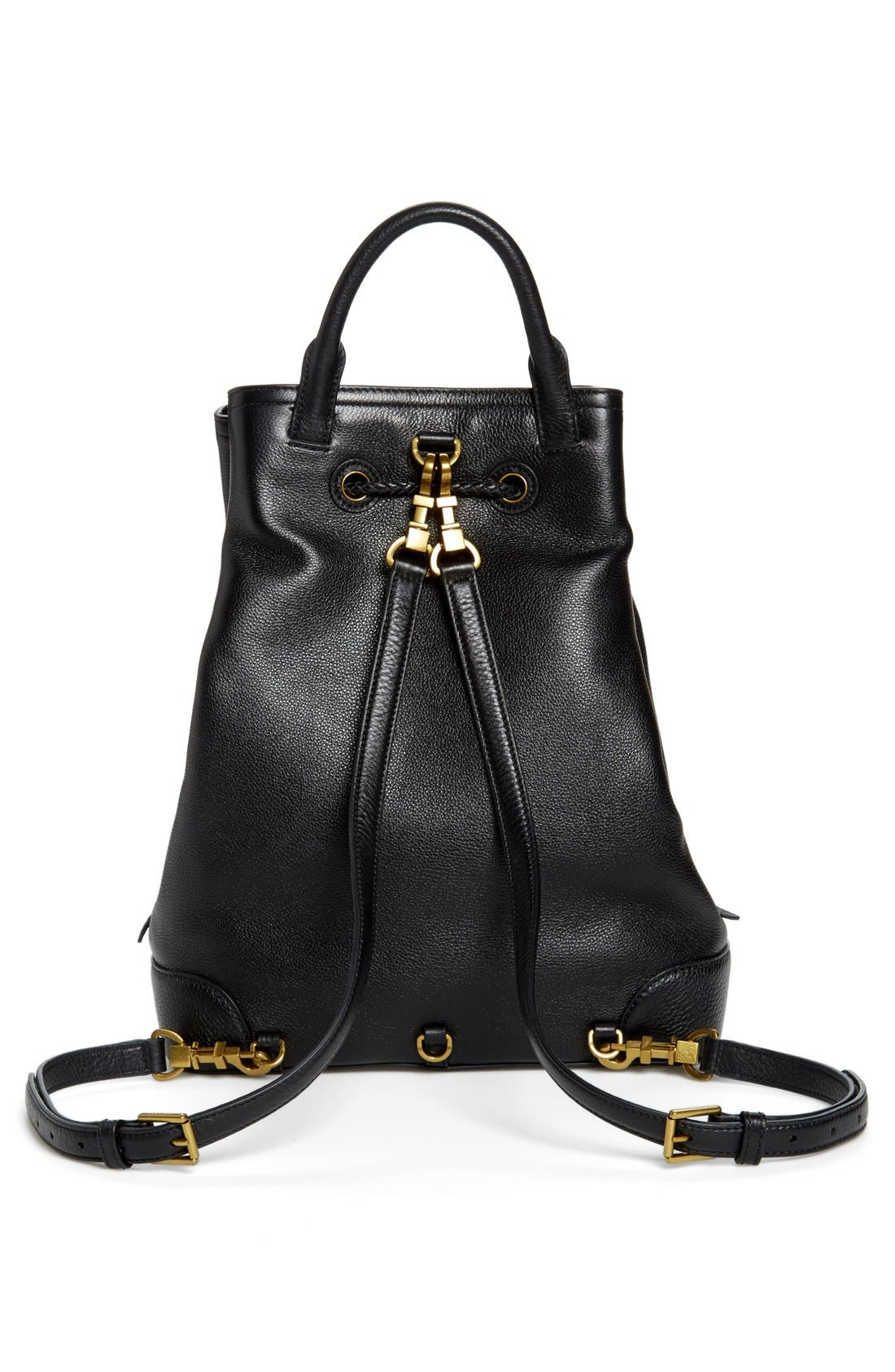 Alternate Image 4  - Tory Burch 'Frances' Leather Backpack