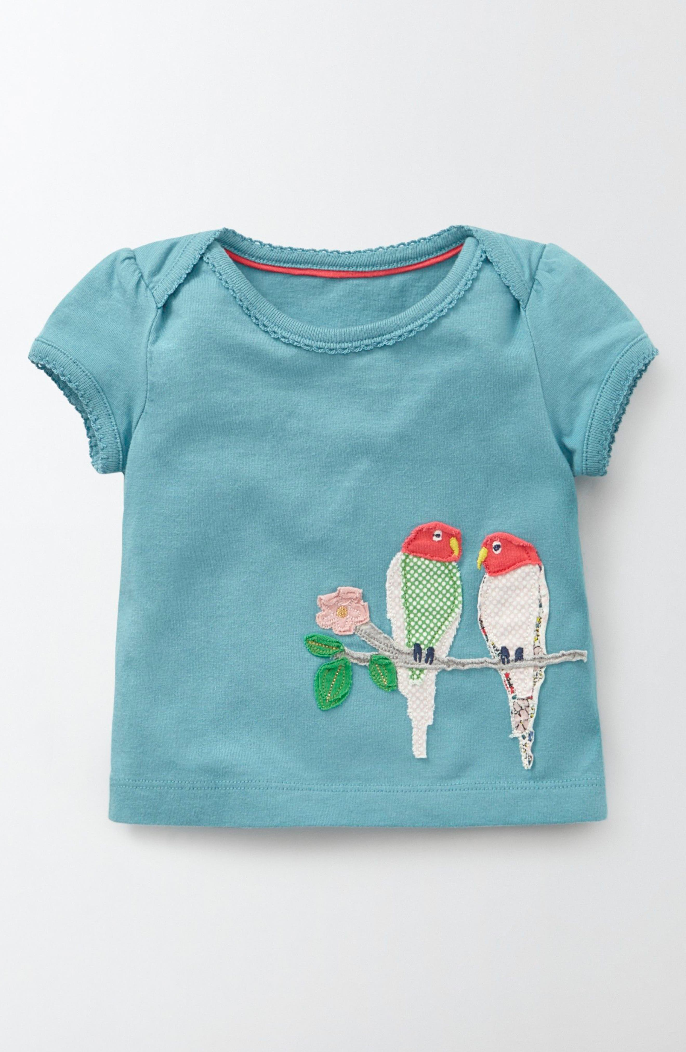 MINI BODEN Animal Friends Tee