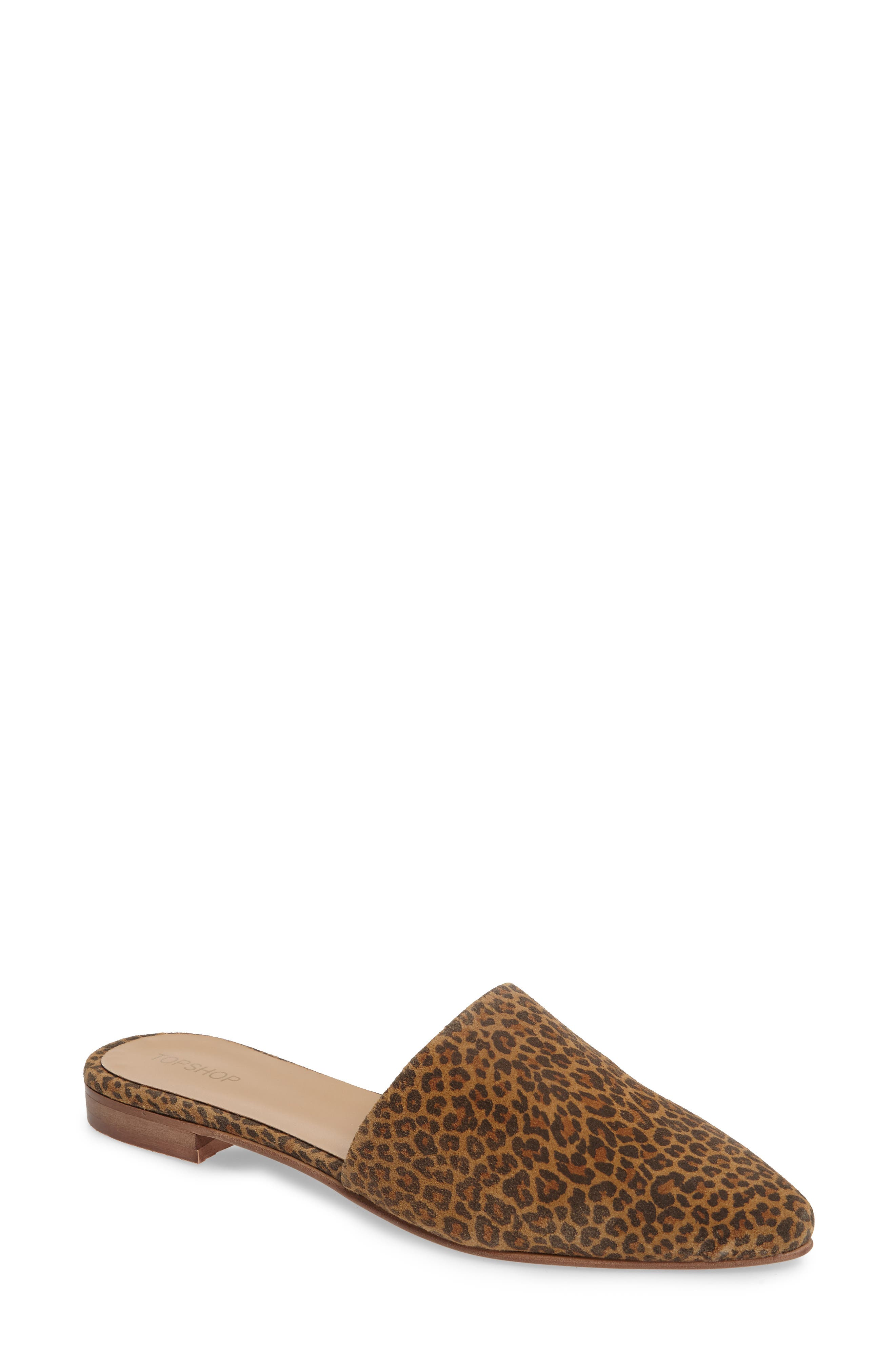 Alternate Image 1 Selected - Topshop Angelina Flat Mule (Women)