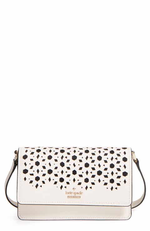kate spade new york cameron street - arielle perforated leather crossbody bag