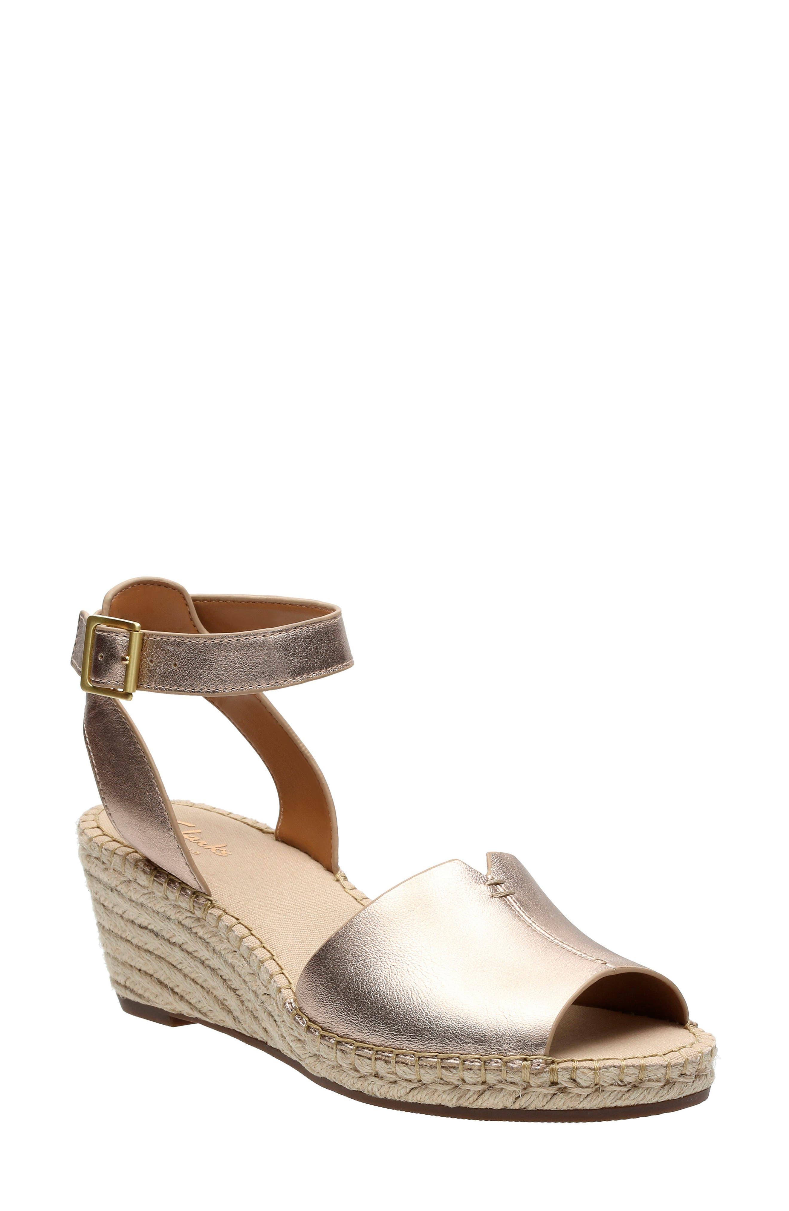 Clarks® 'Petrina Selma' Sandal (Women)
